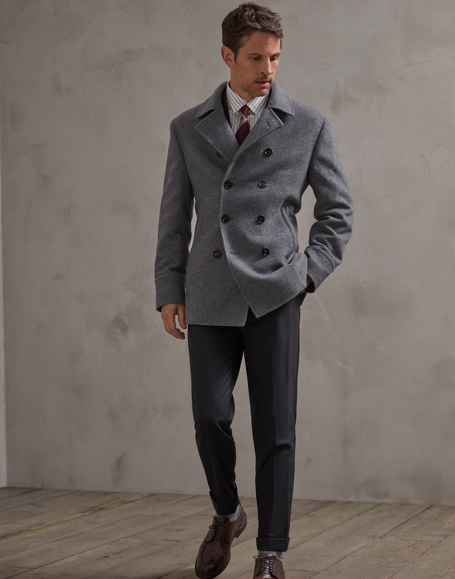 Trousers Dark Grey Man 3 - Brunello Cucinelli