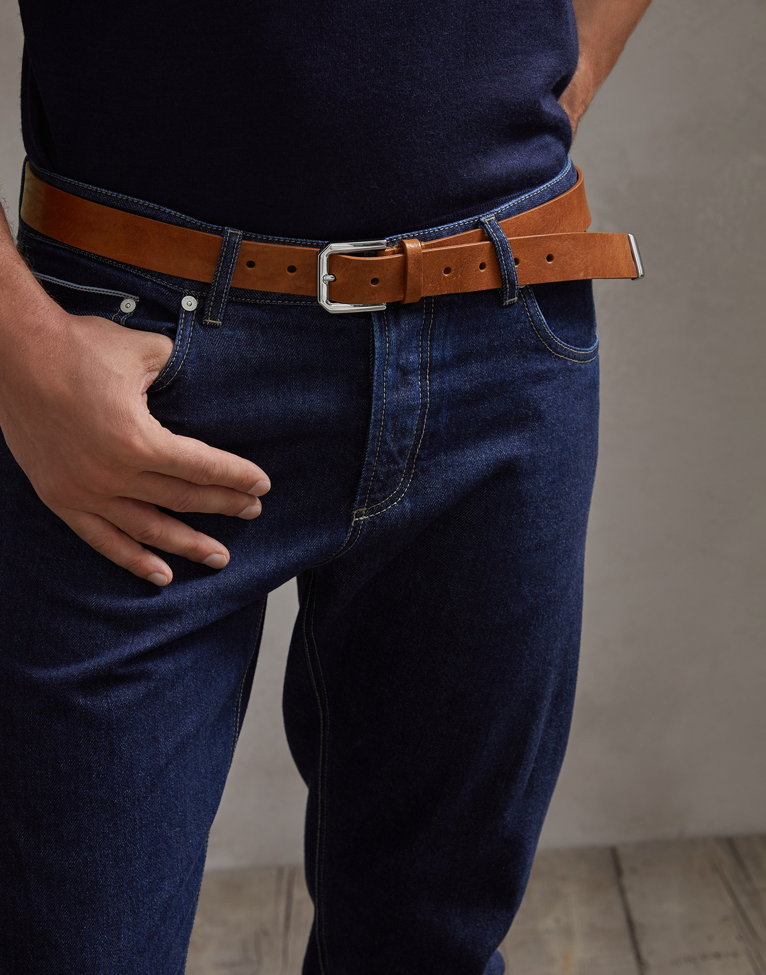 Belt Crumble Man 2 - Brunello Cucinelli
