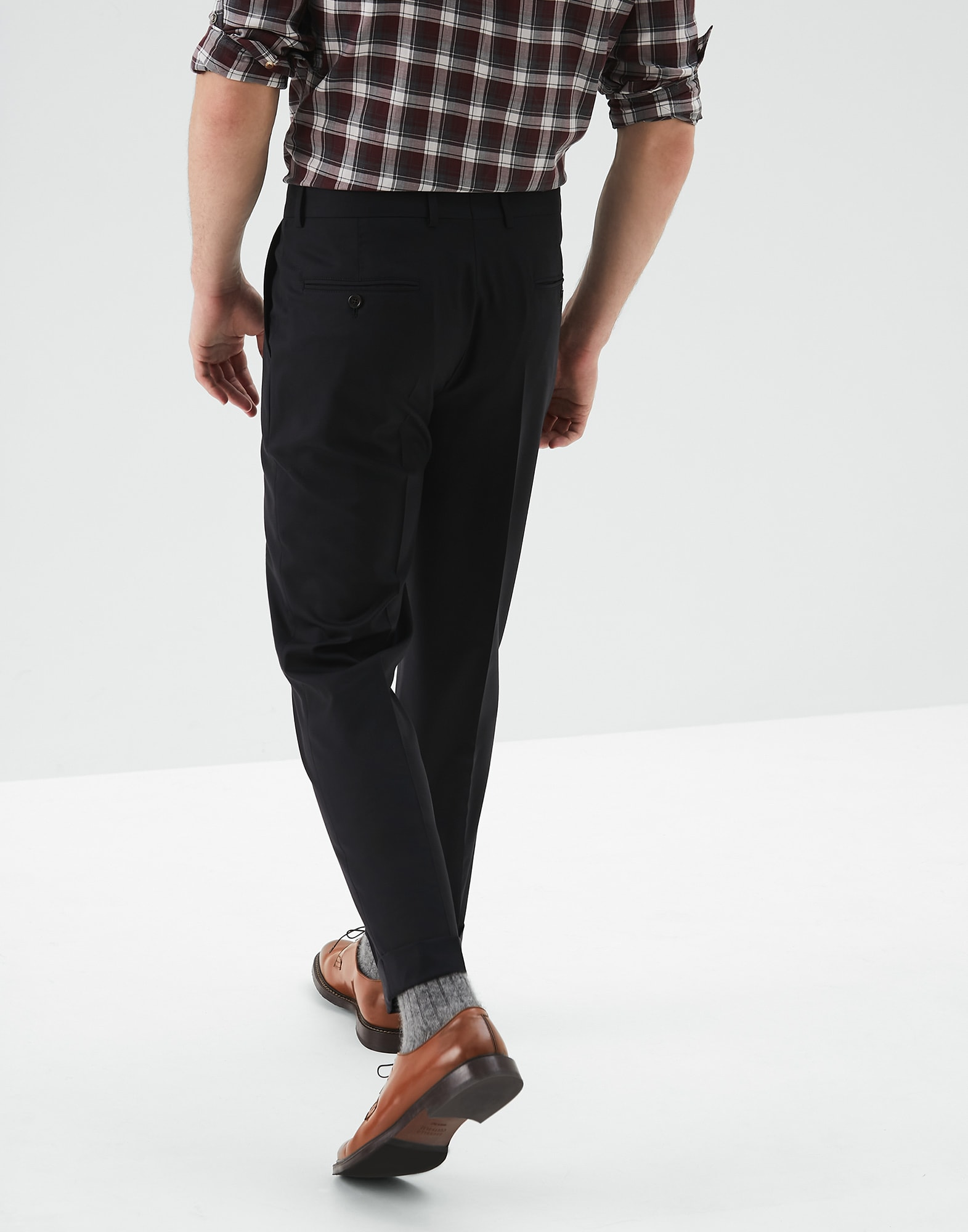 Trousers Black Man 1 - Brunello Cucinelli