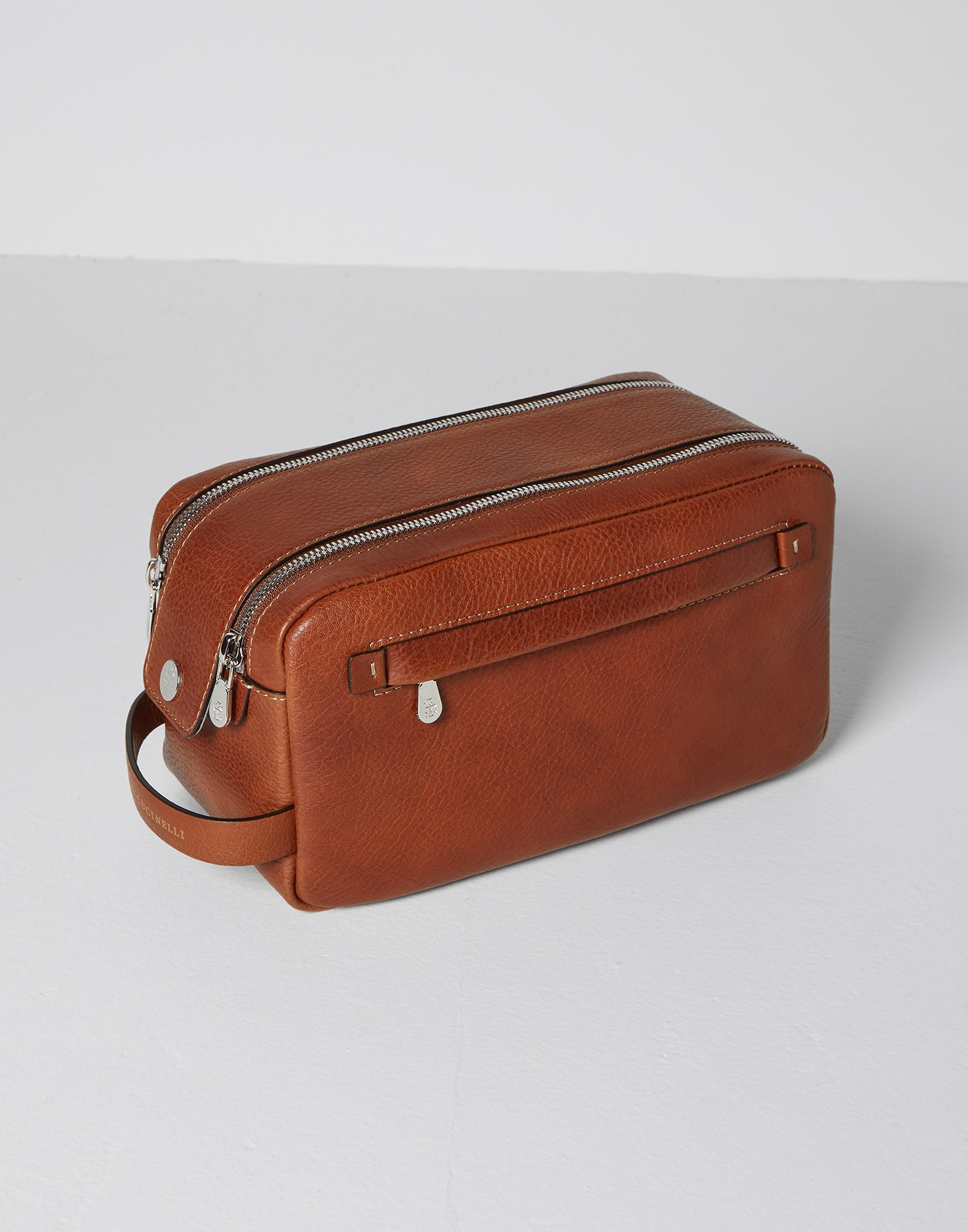 Beauty Case Rum Man 0 - Brunello Cucinelli
