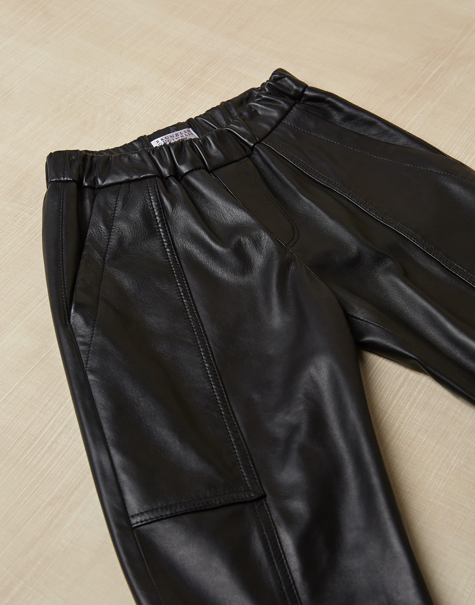 Trousers Black Girl 0 - Brunello Cucinelli