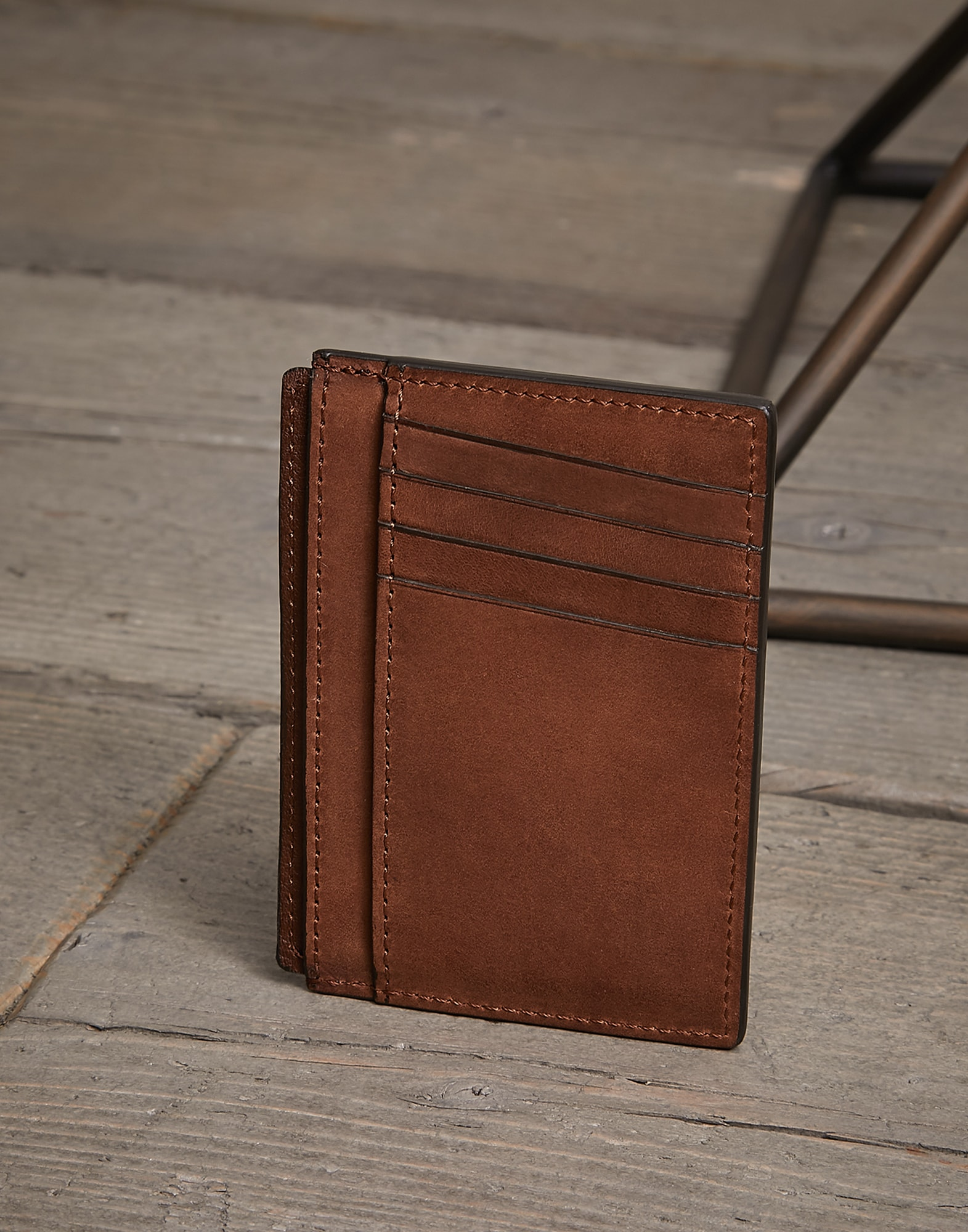 Card Holder Bark Man 1 - Brunello Cucinelli
