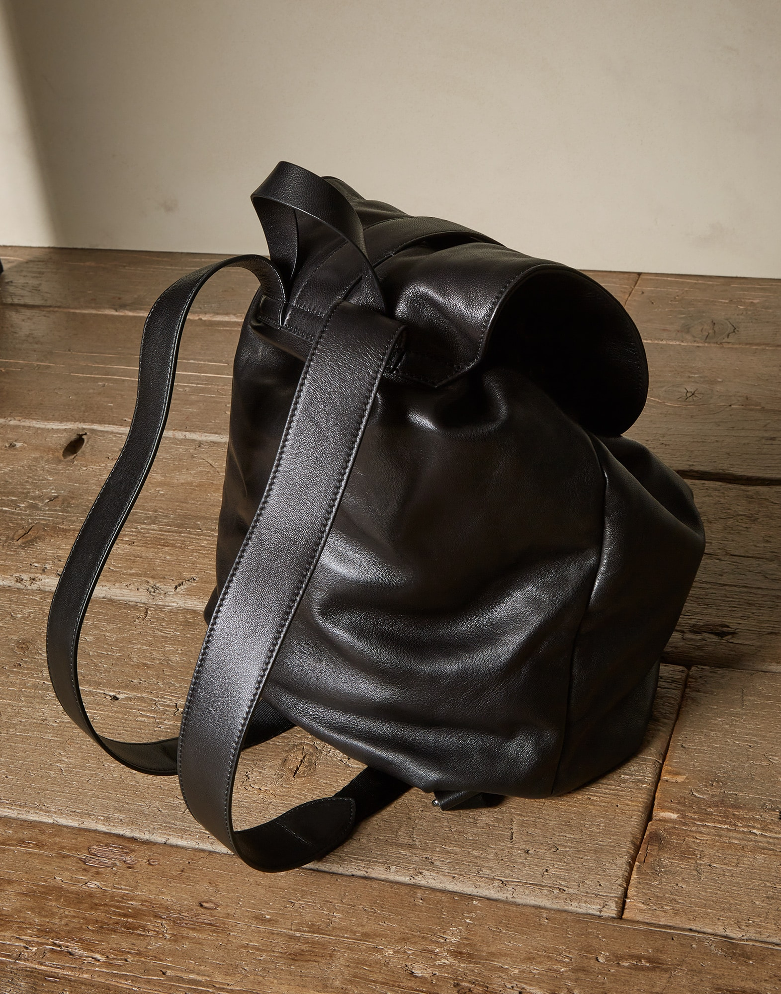 Backpack Black Woman 1 - Brunello Cucinelli