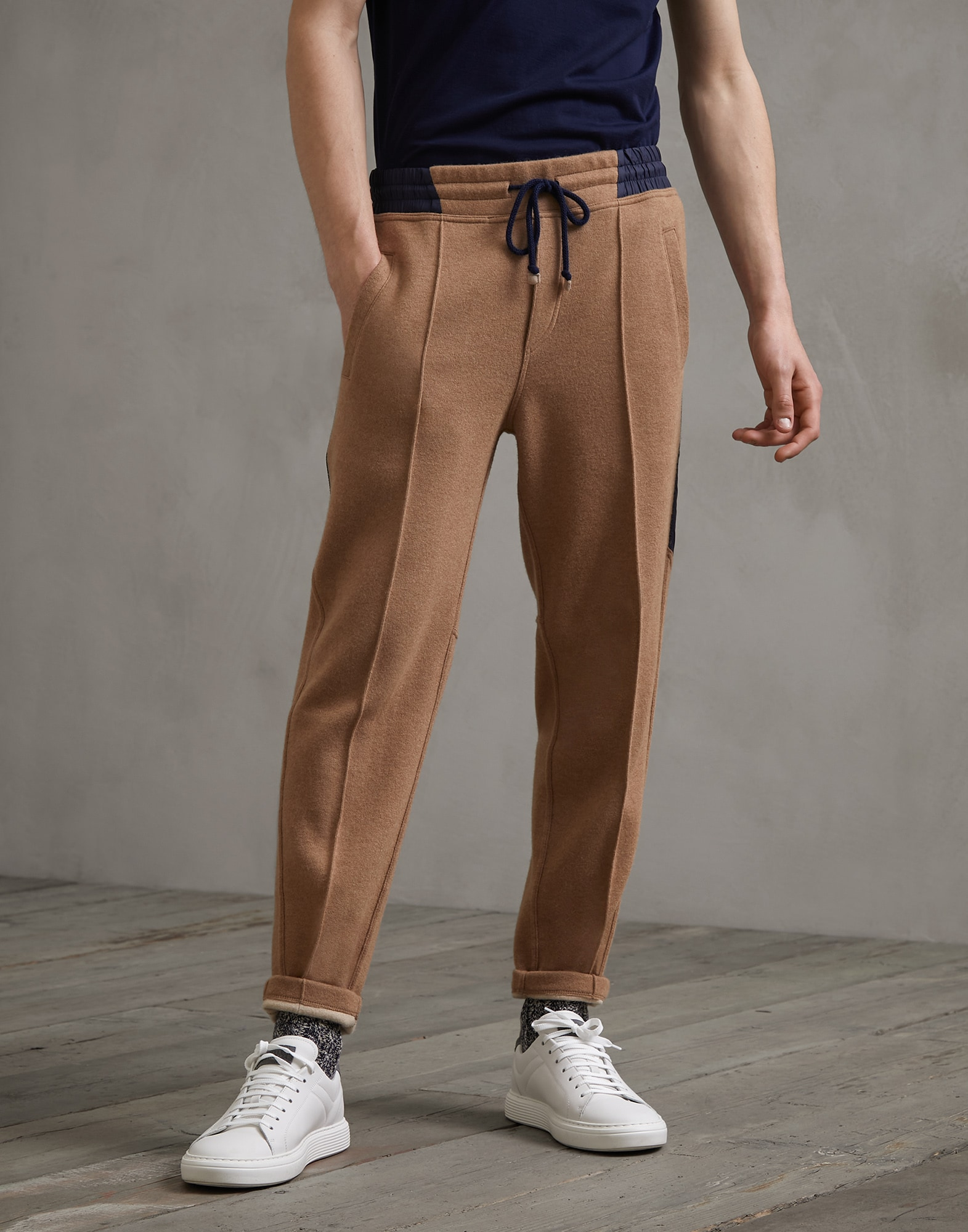 Sweatpants Camel Man 0 - Brunello Cucinelli