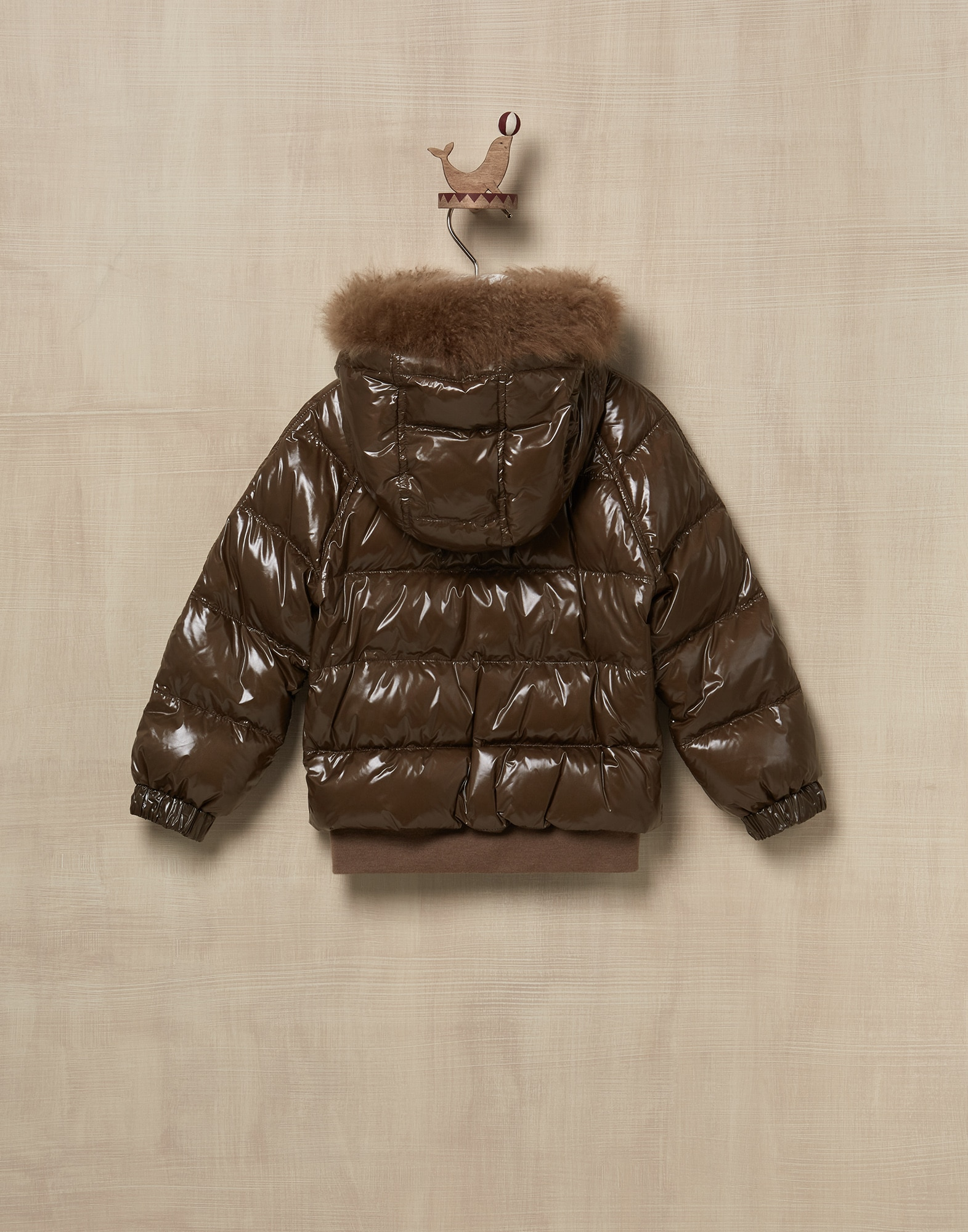 Down Jacket Mud Girl 2 - Brunello Cucinelli