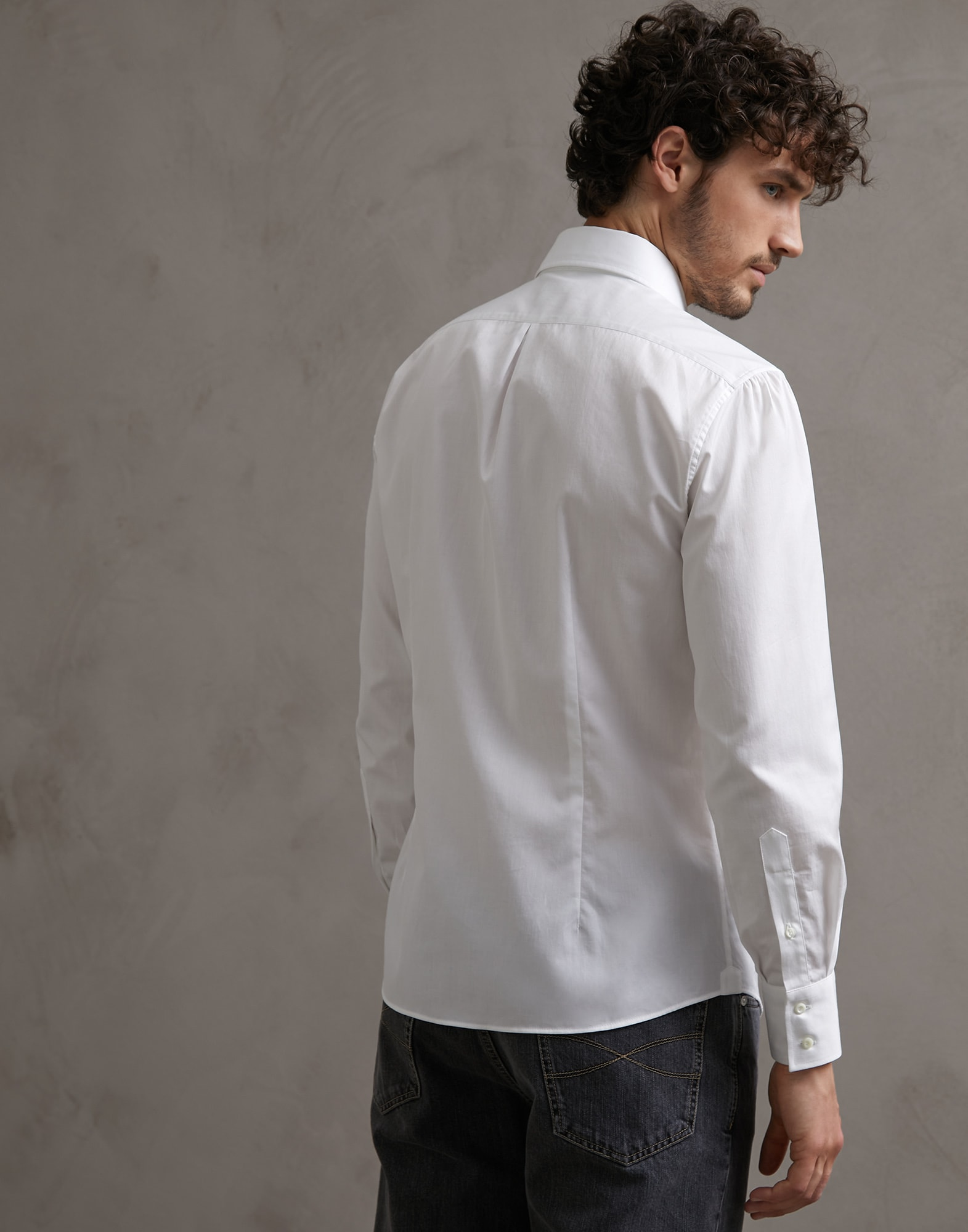 French Collar Shirt - Back view