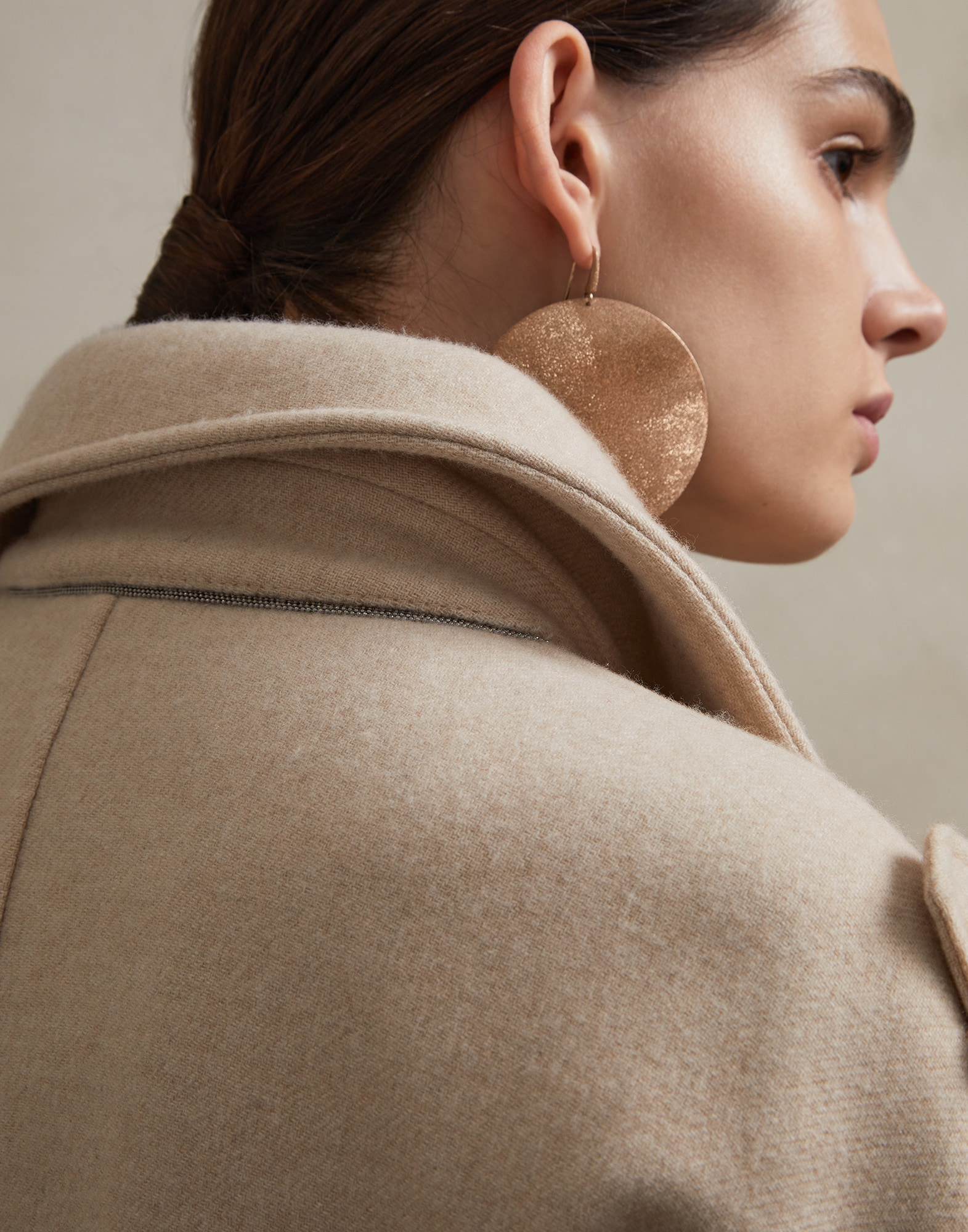 Coat Beige Woman 2 - Brunello Cucinelli