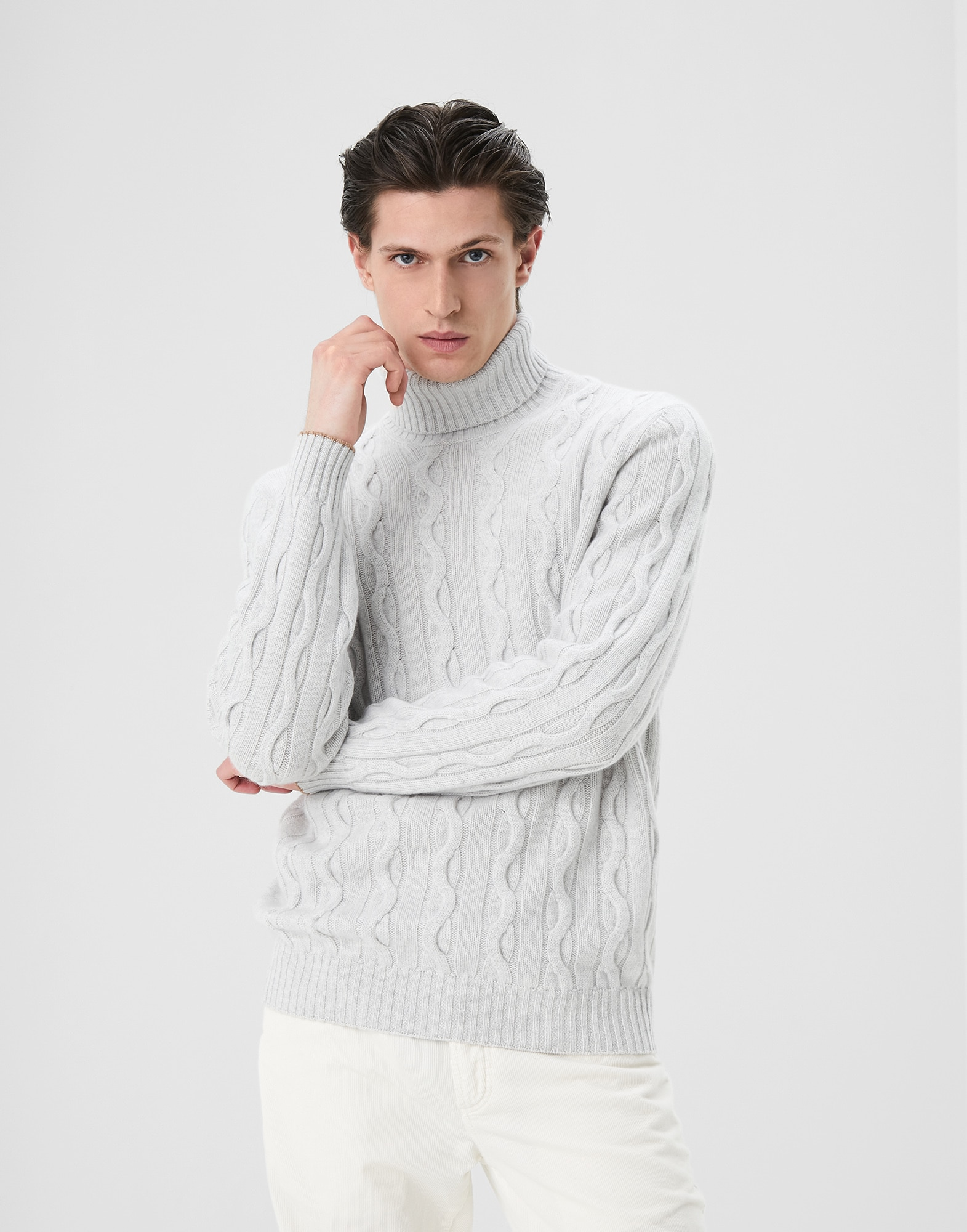 High Neck Sweater - Front