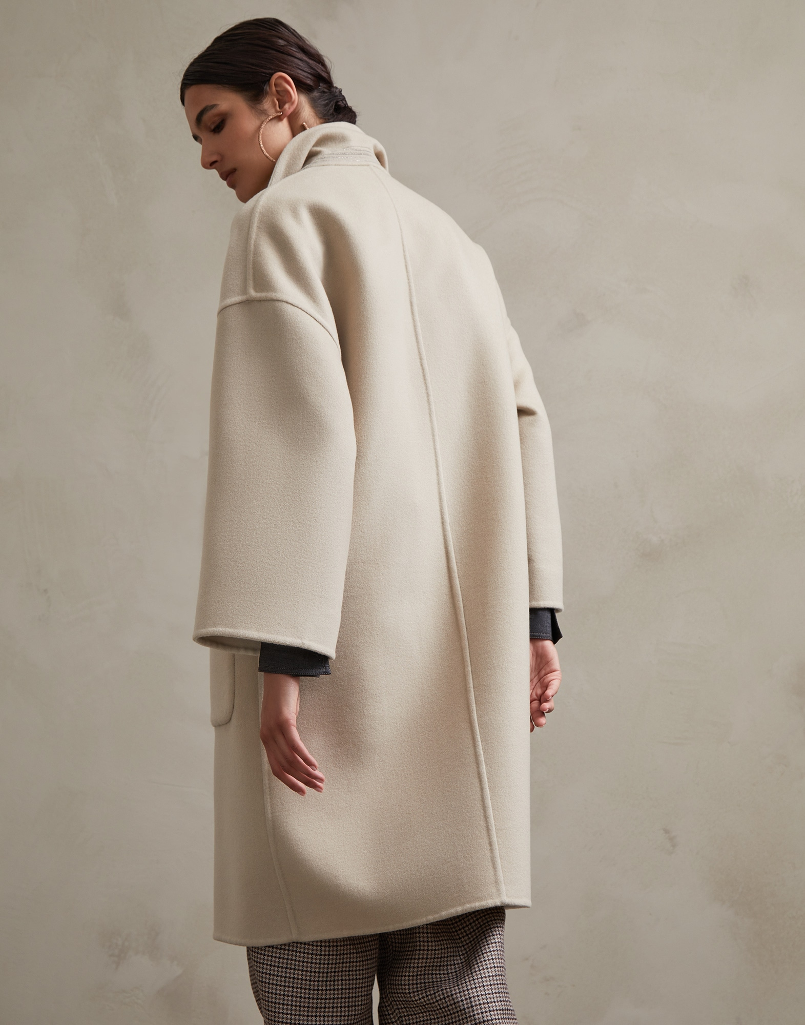 Coat Natural Woman 2 - Brunello Cucinelli