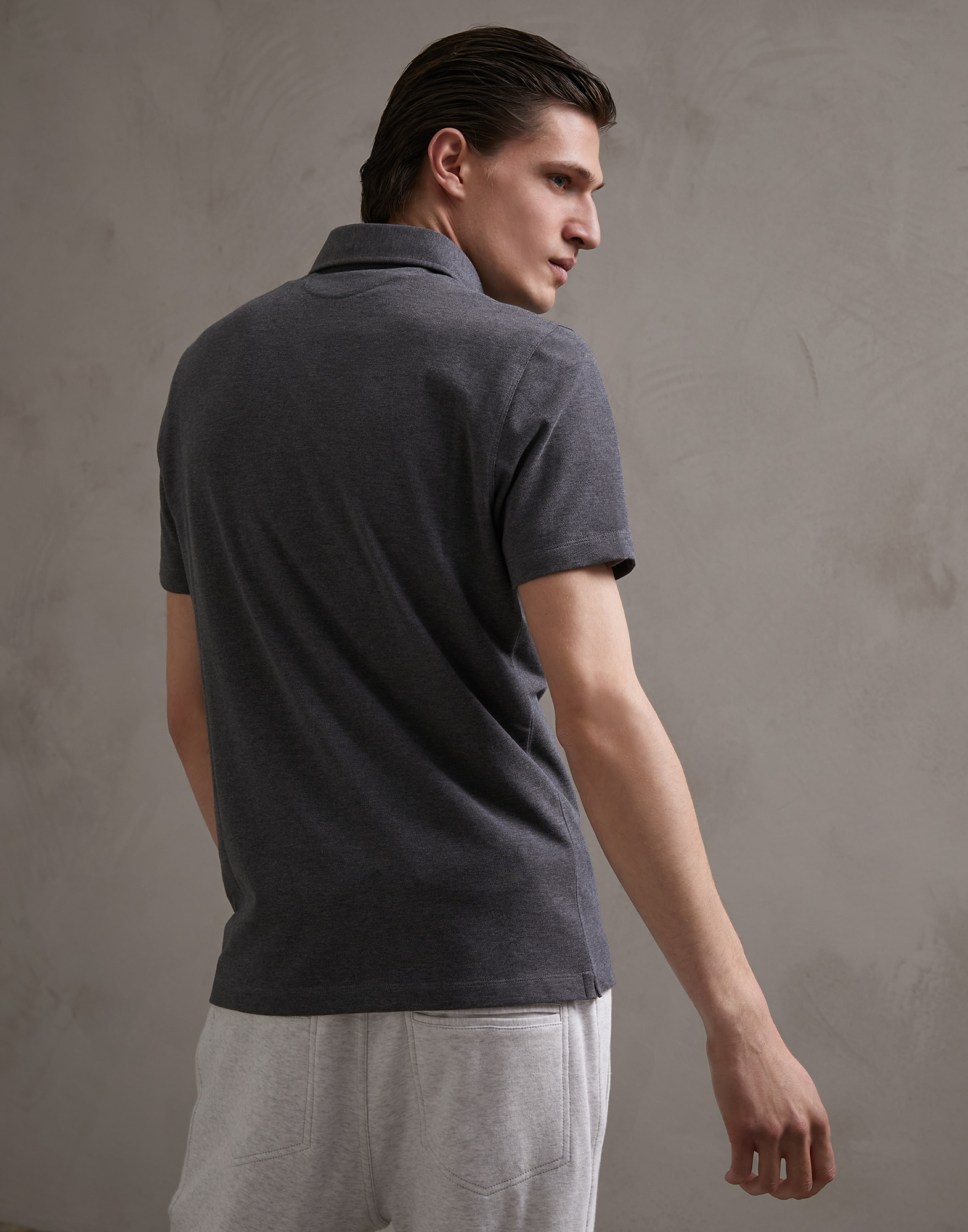 Polo Shirt - Back view