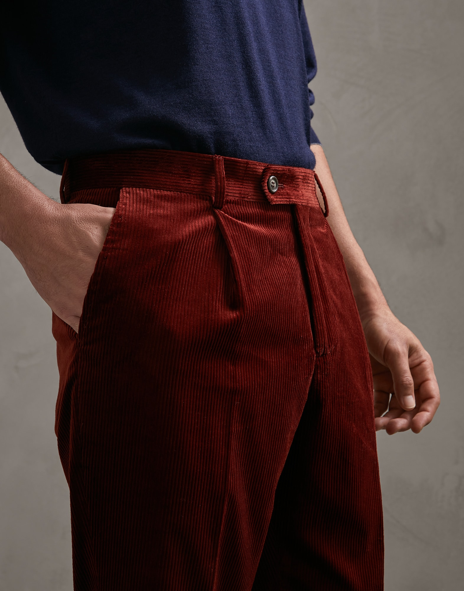 Trousers Burned Man 2 - Brunello Cucinelli