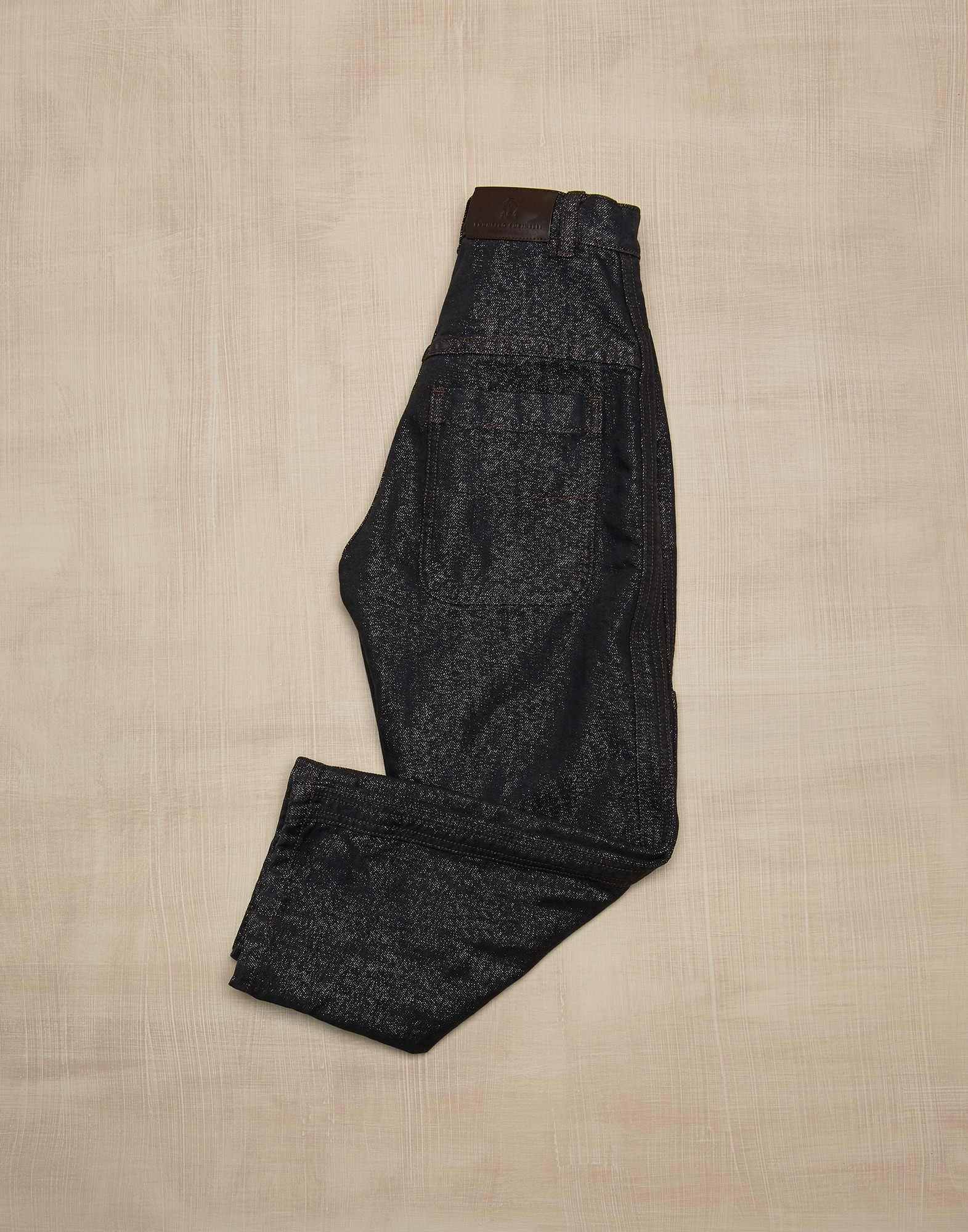 Denim Trousers Lignite Girl 1 - Brunello Cucinelli