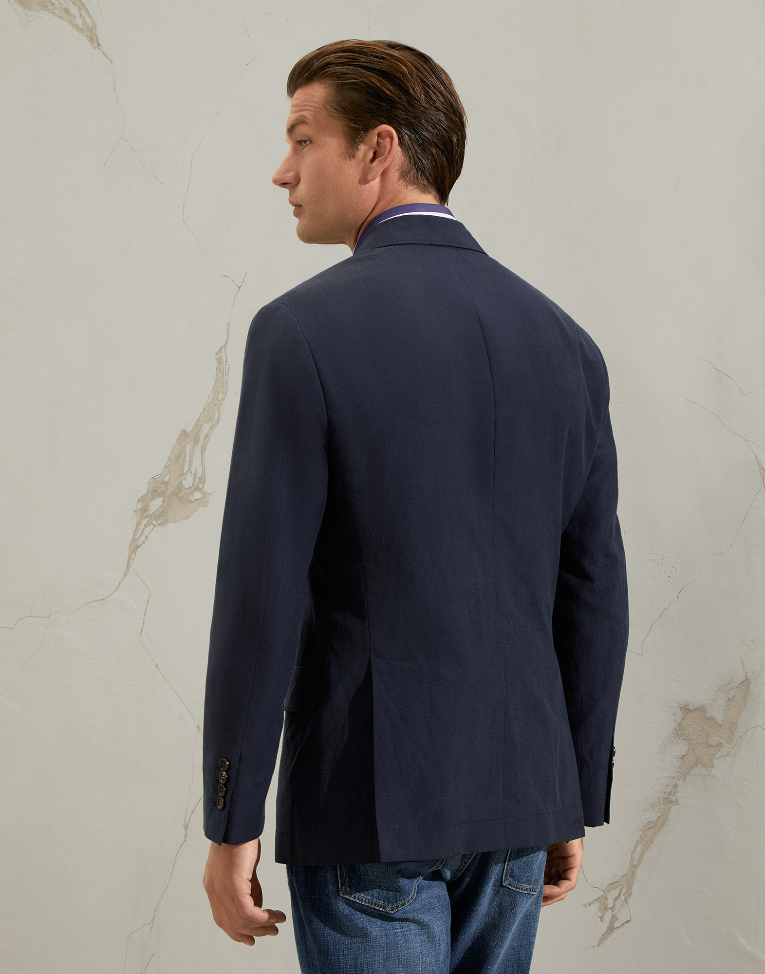 One-and-a-Half-Breasted Blazer - Back