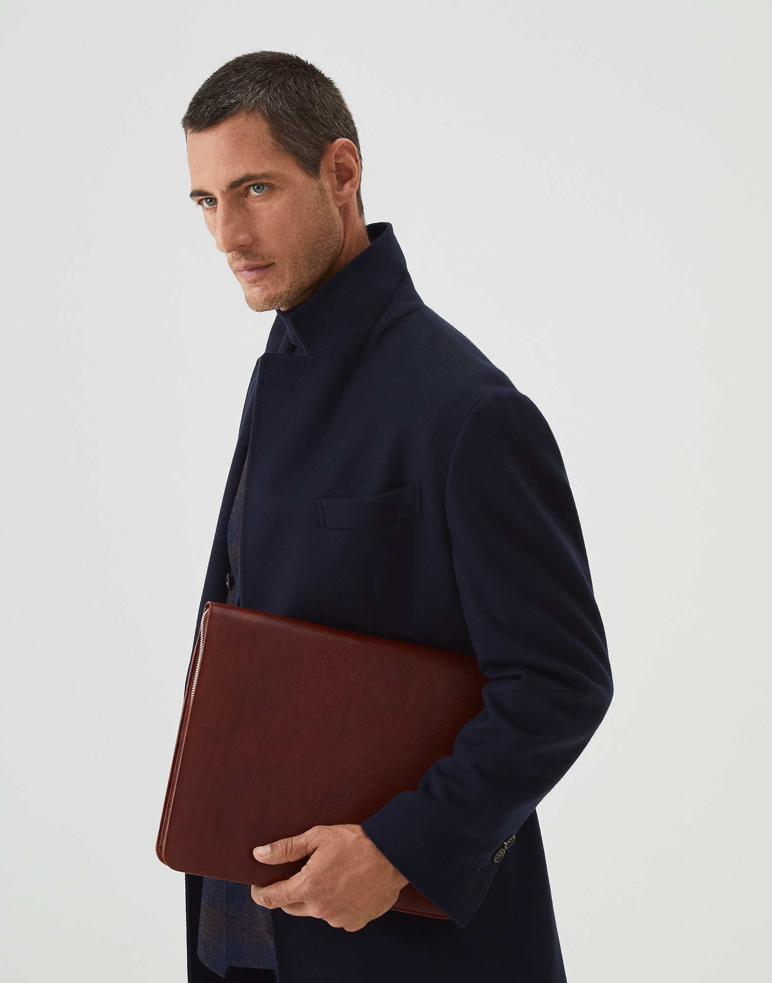 Porte-Documents Cognac Homme 3 - Brunello Cucinelli