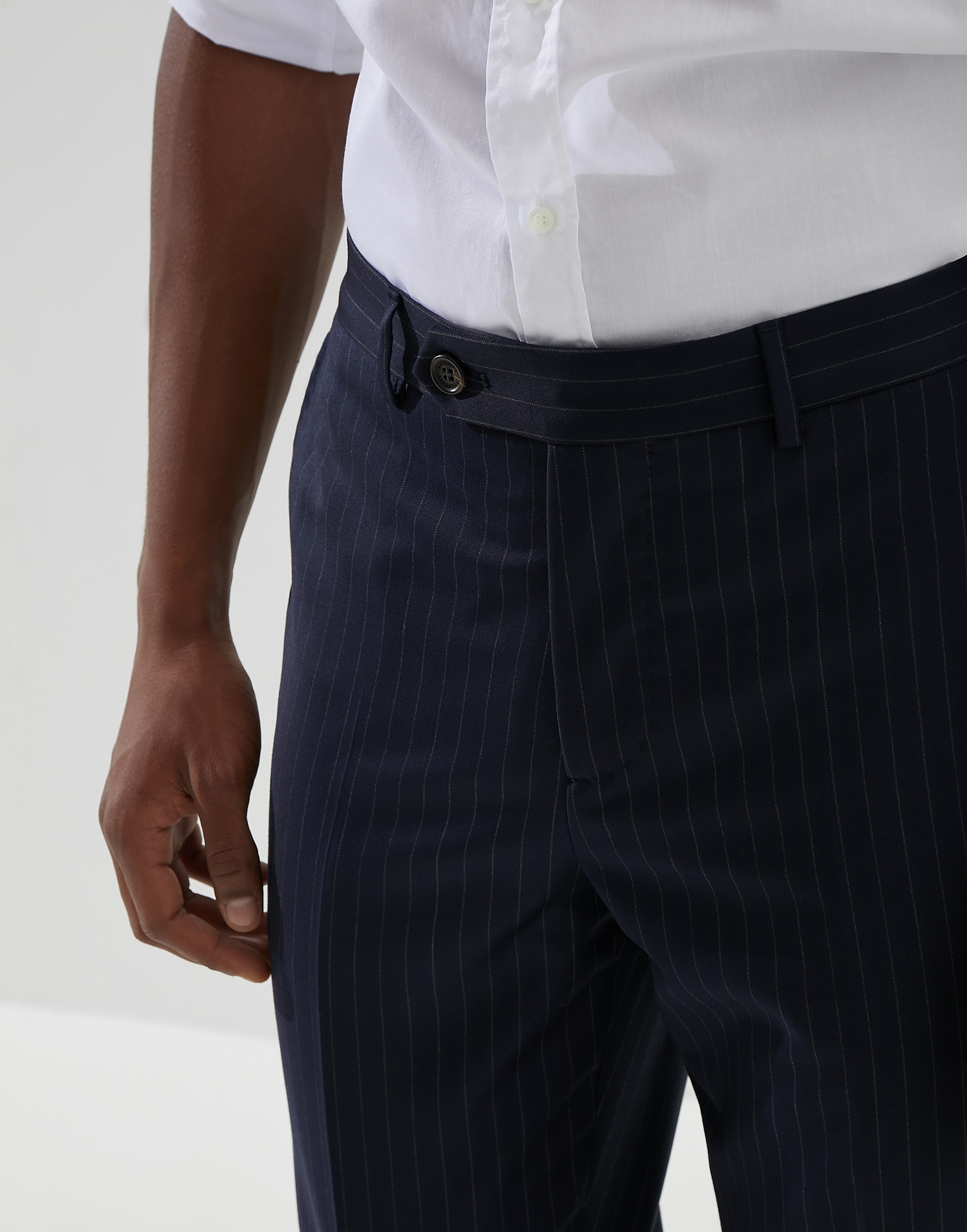 Trousers Navy Blue Man 2 - Brunello Cucinelli