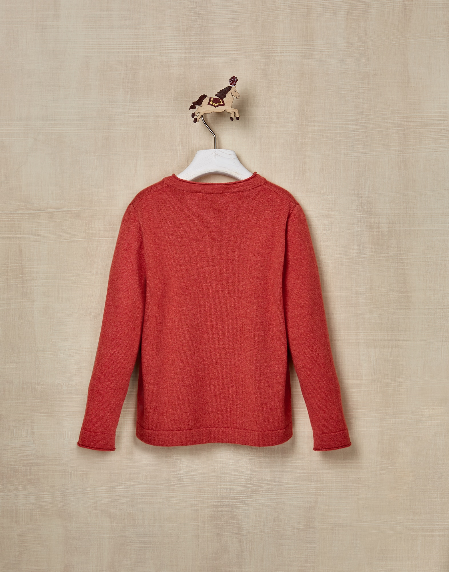 Crewneck Sweater Carrot Boy 2 - Brunello Cucinelli