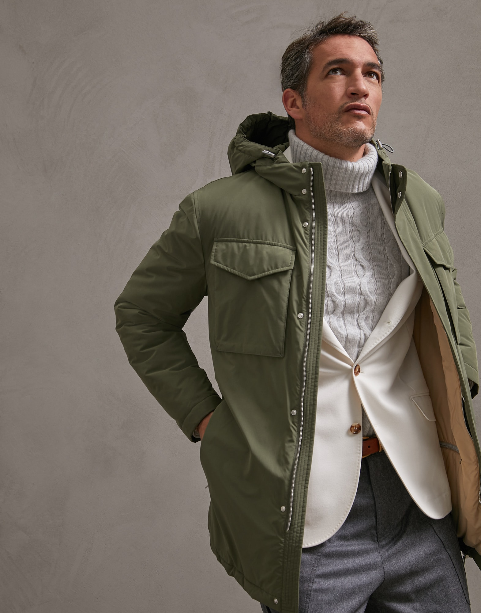 Parka Military Man 4 - Brunello Cucinelli