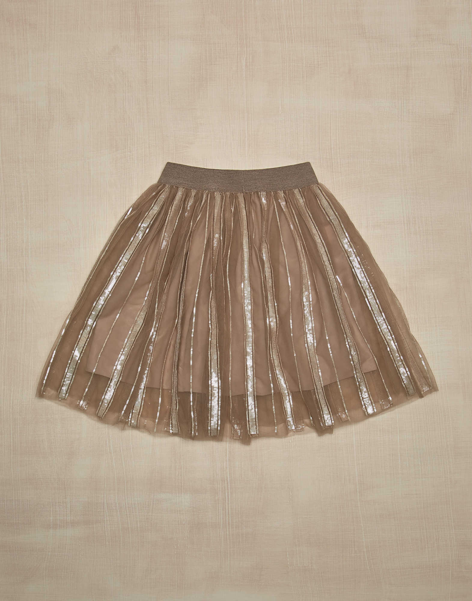 Skirt Warm Beige Girl 1 - Brunello Cucinelli