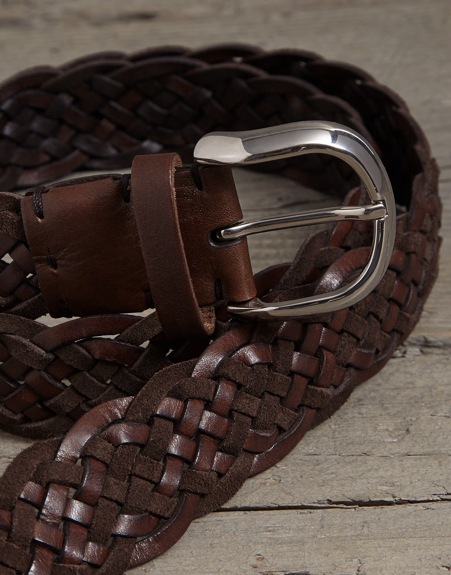 Belt Rust Brown Man 1 - Brunello Cucinelli