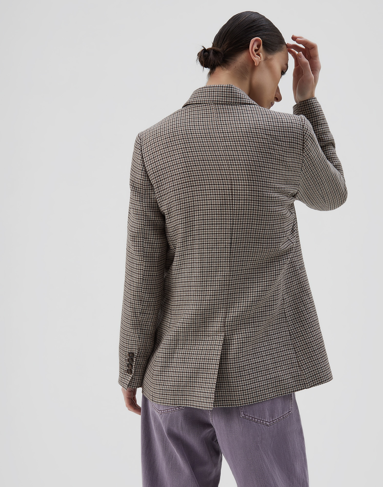 Blazer Tobacco Woman 2 - Brunello Cucinelli