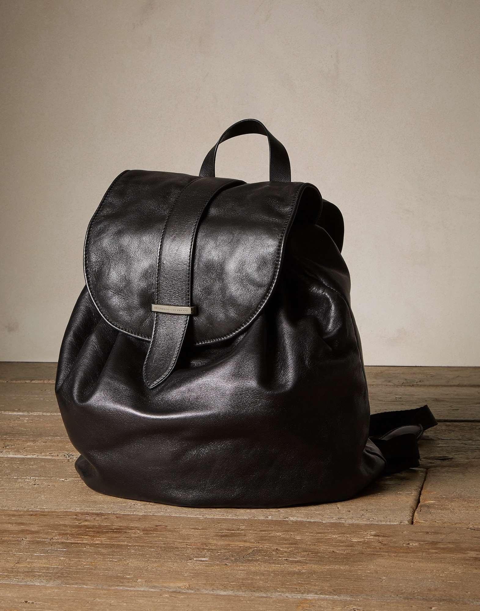 Backpack Black Woman 0 - Brunello Cucinelli