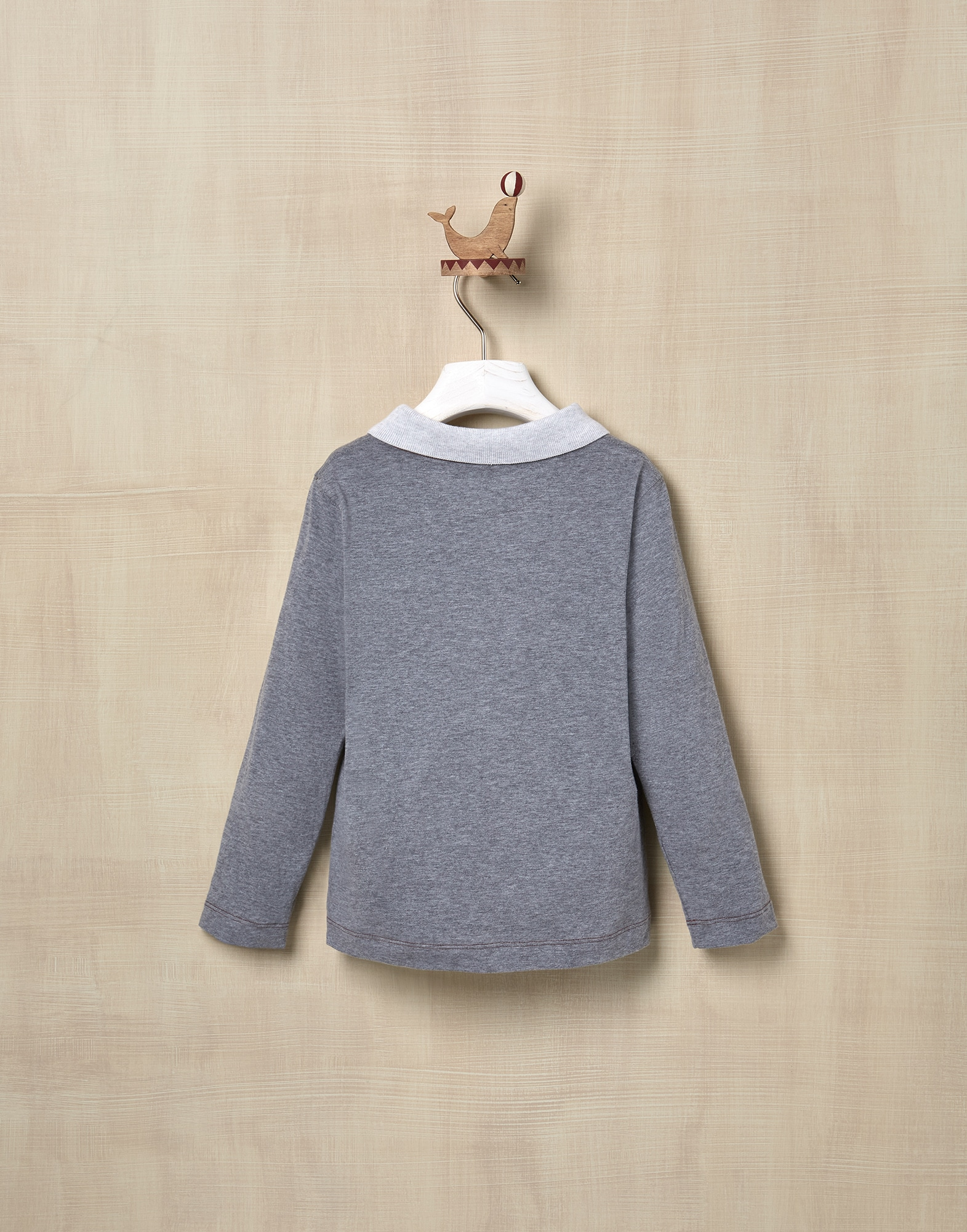 T-Shirt Medium Grey Boy 2 - Brunello Cucinelli
