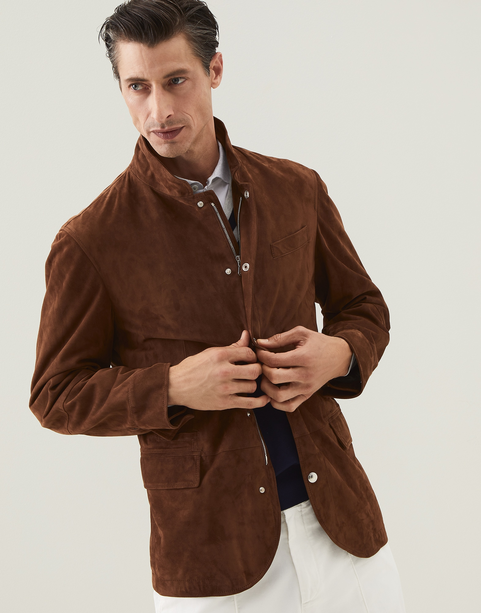 Jacket-style Outerwear - Front