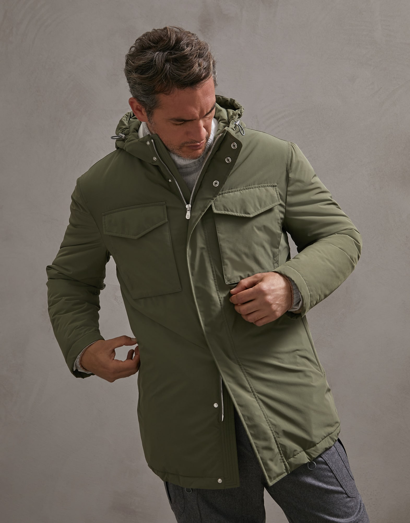 Parka Military Man 0 - Brunello Cucinelli