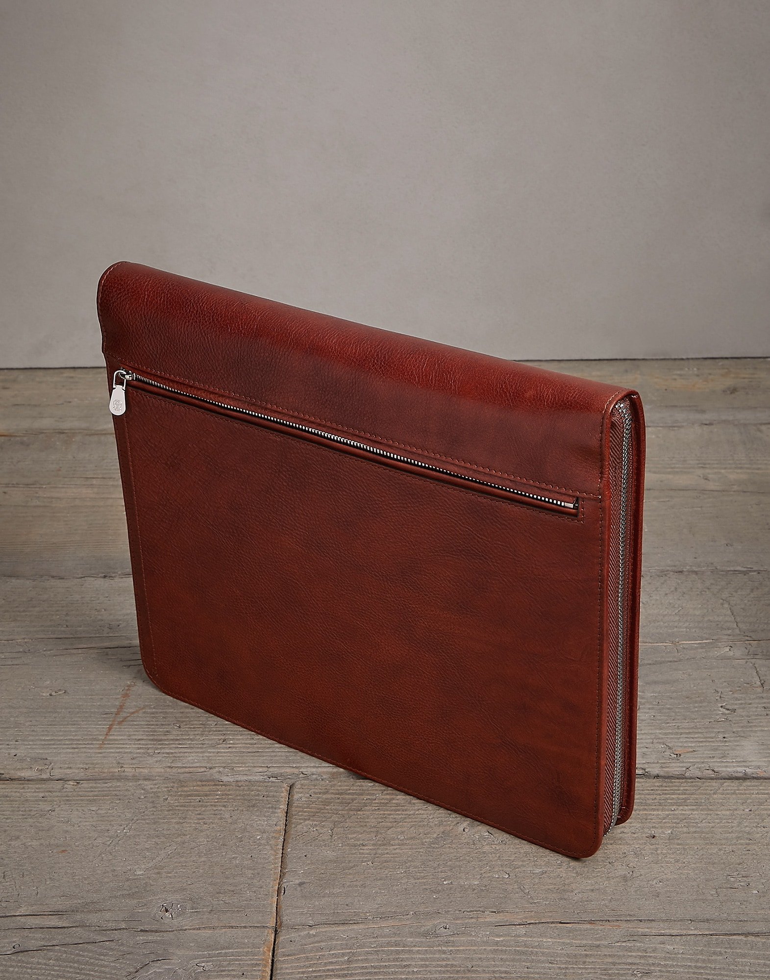 Porte-Documents Cognac Homme 1 - Brunello Cucinelli
