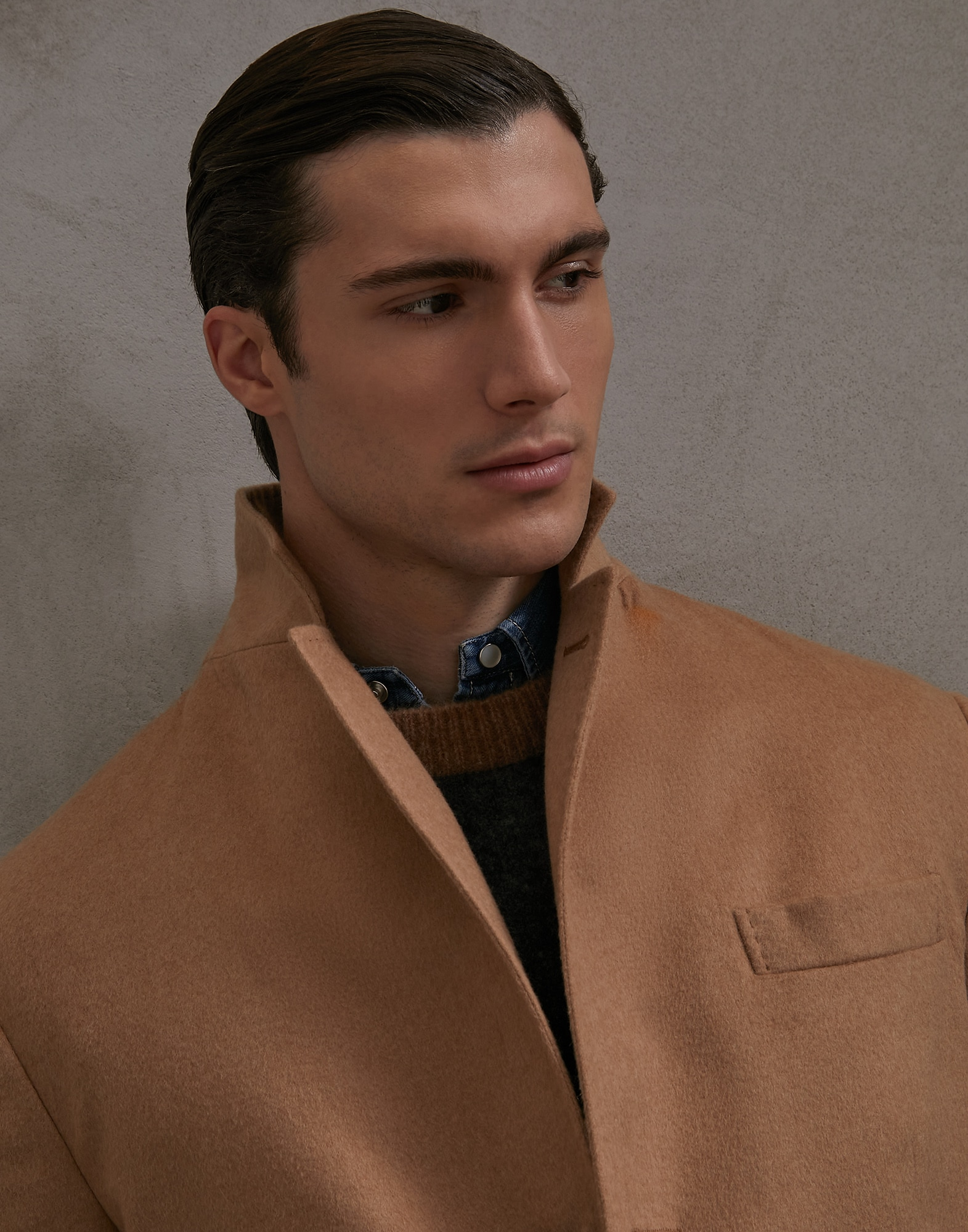 Coat Camel Man 3 - Brunello Cucinelli