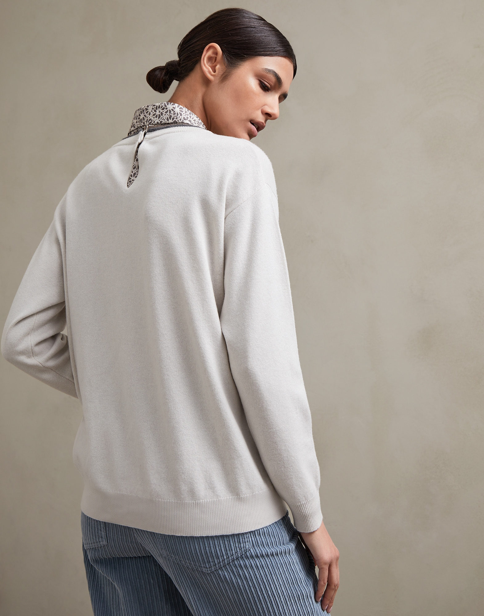 Crewneck Sweater - Back view