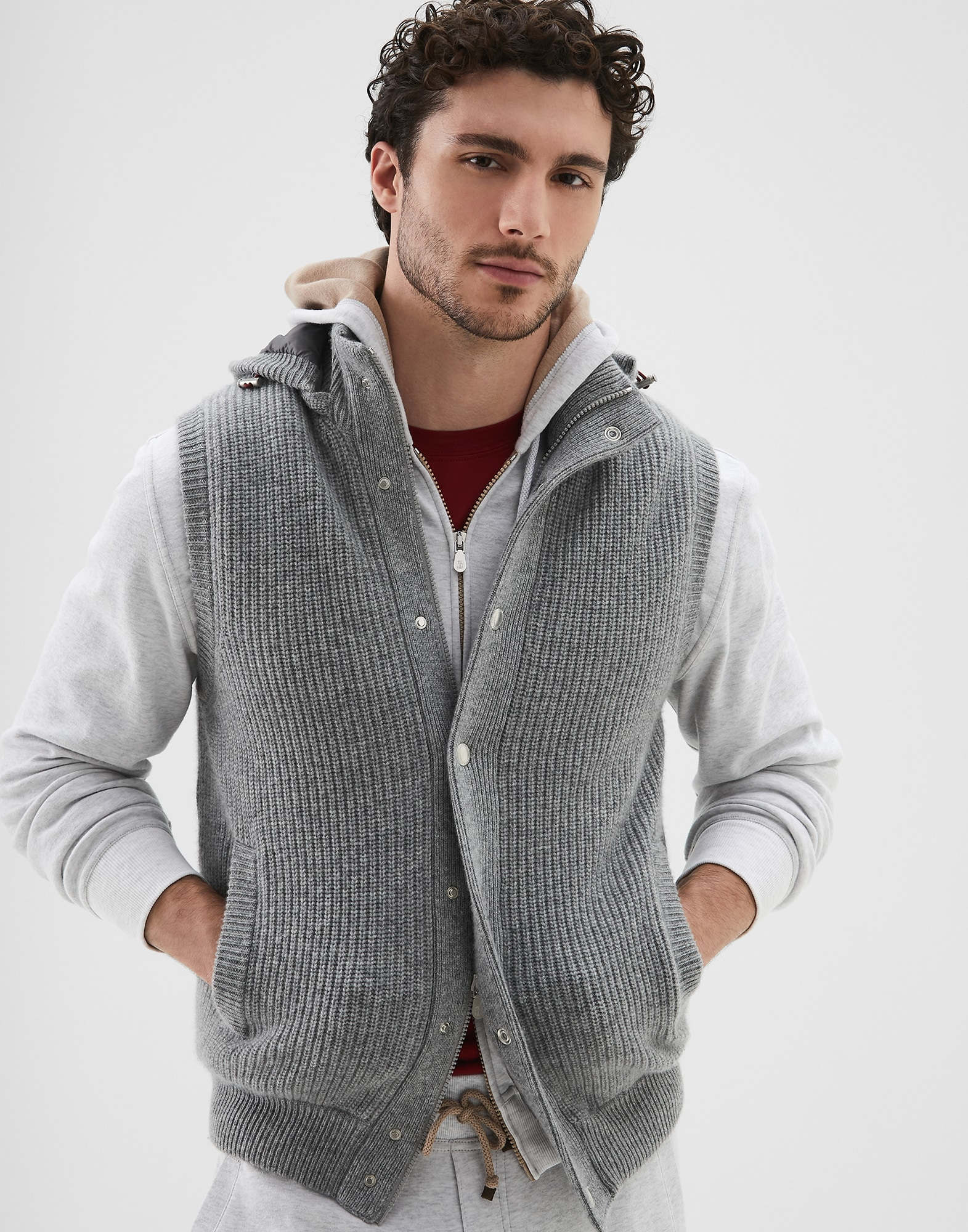 Knit Outerwear - Front