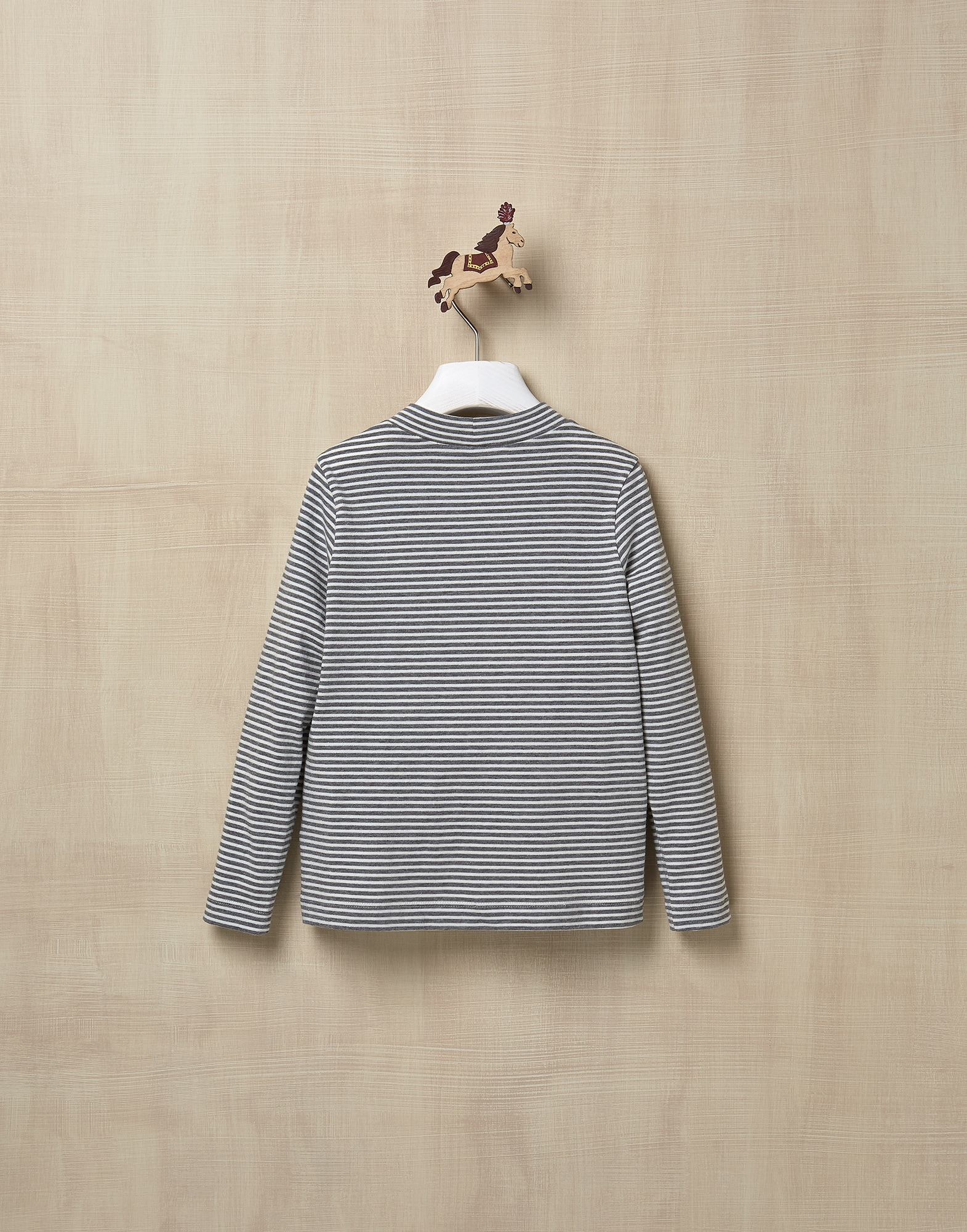 T-Shirt Medium Grey Girl 2 - Brunello Cucinelli