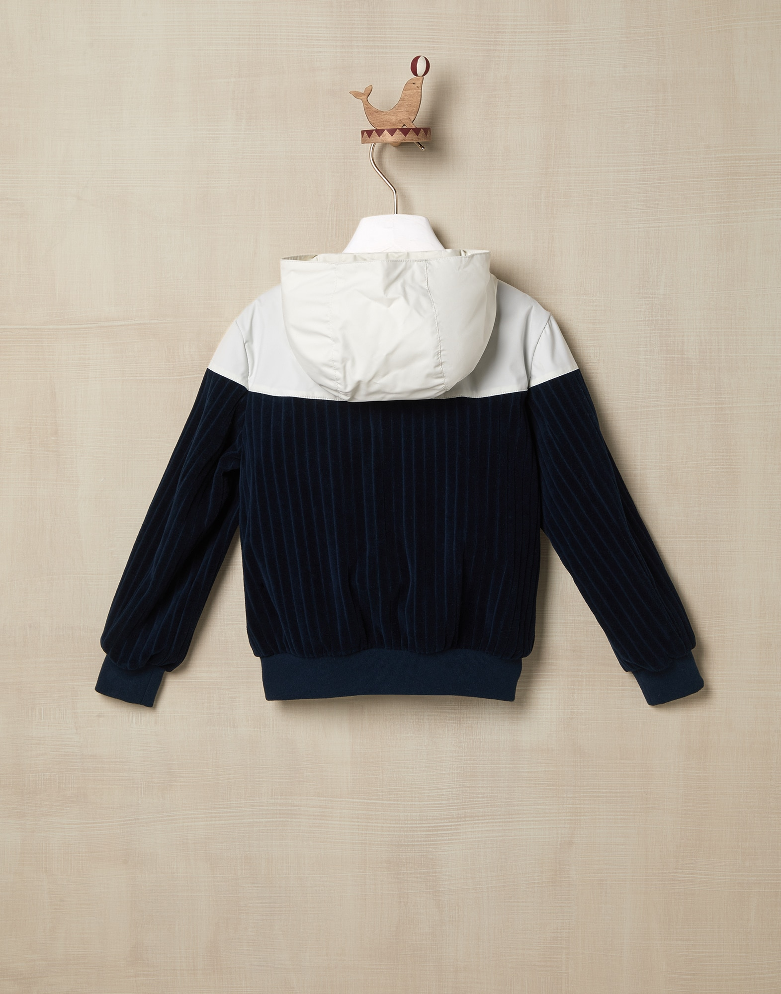 Topwear Navy Blue Boy 1 - Brunello Cucinelli