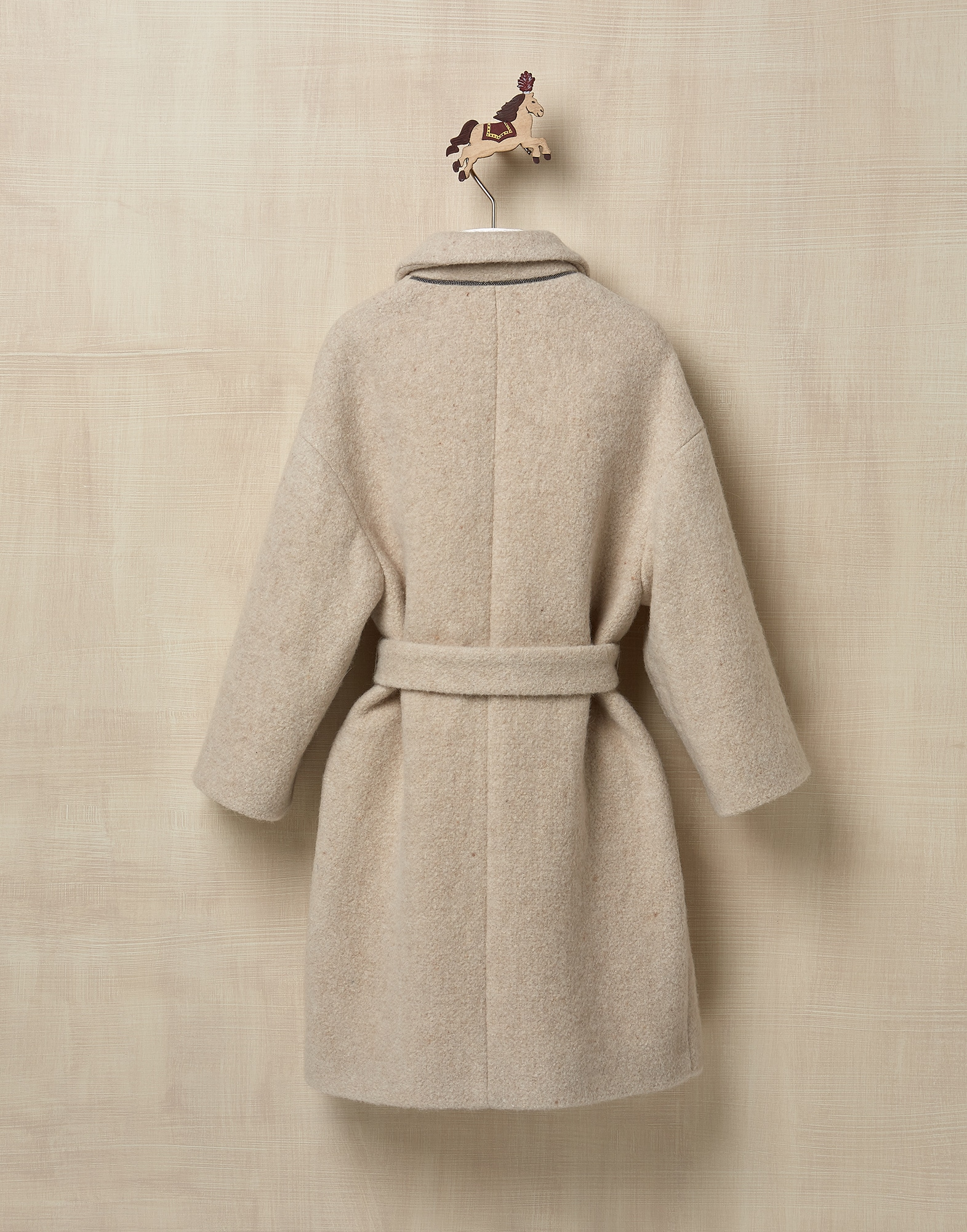Coat Beige Girl 1 - Brunello Cucinelli
