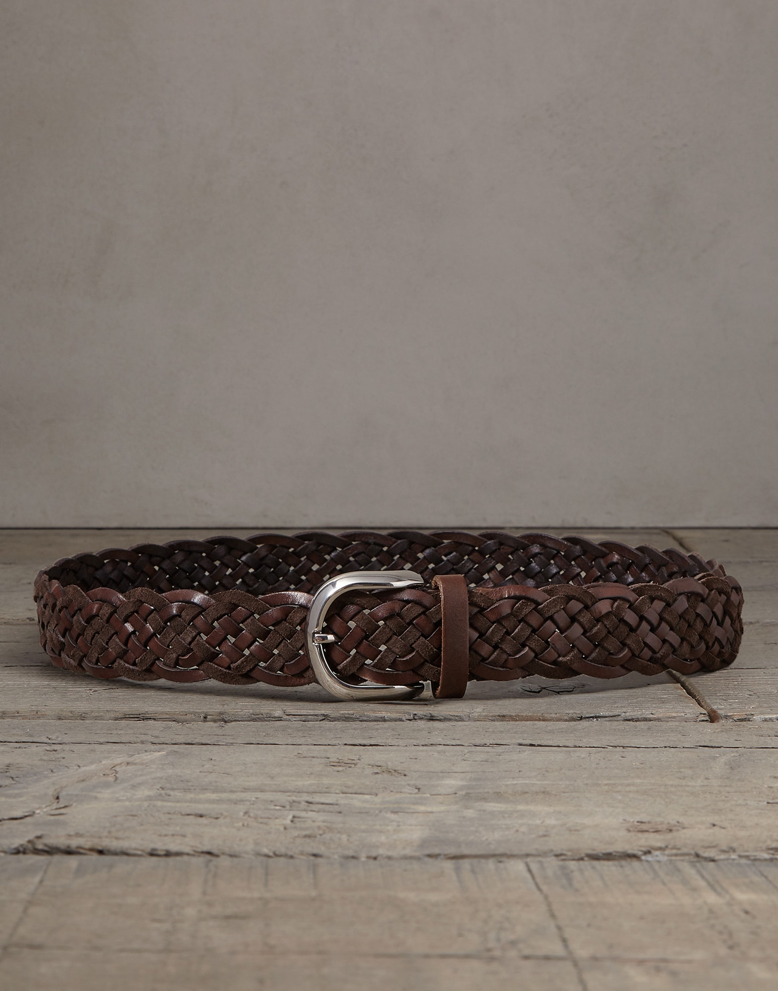 Belt Rust Brown Man 0 - Brunello Cucinelli