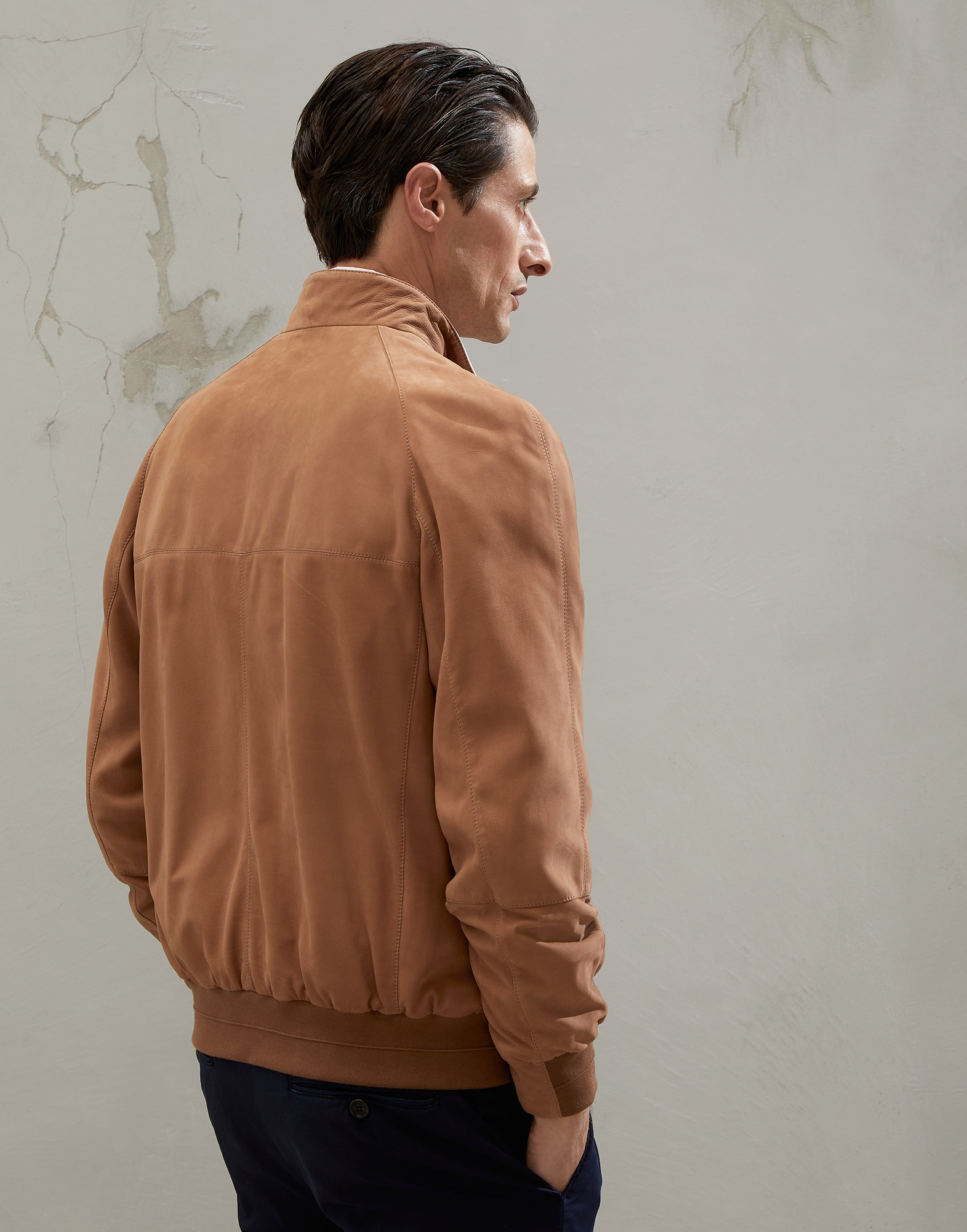 Outerwear Jacket - Back view