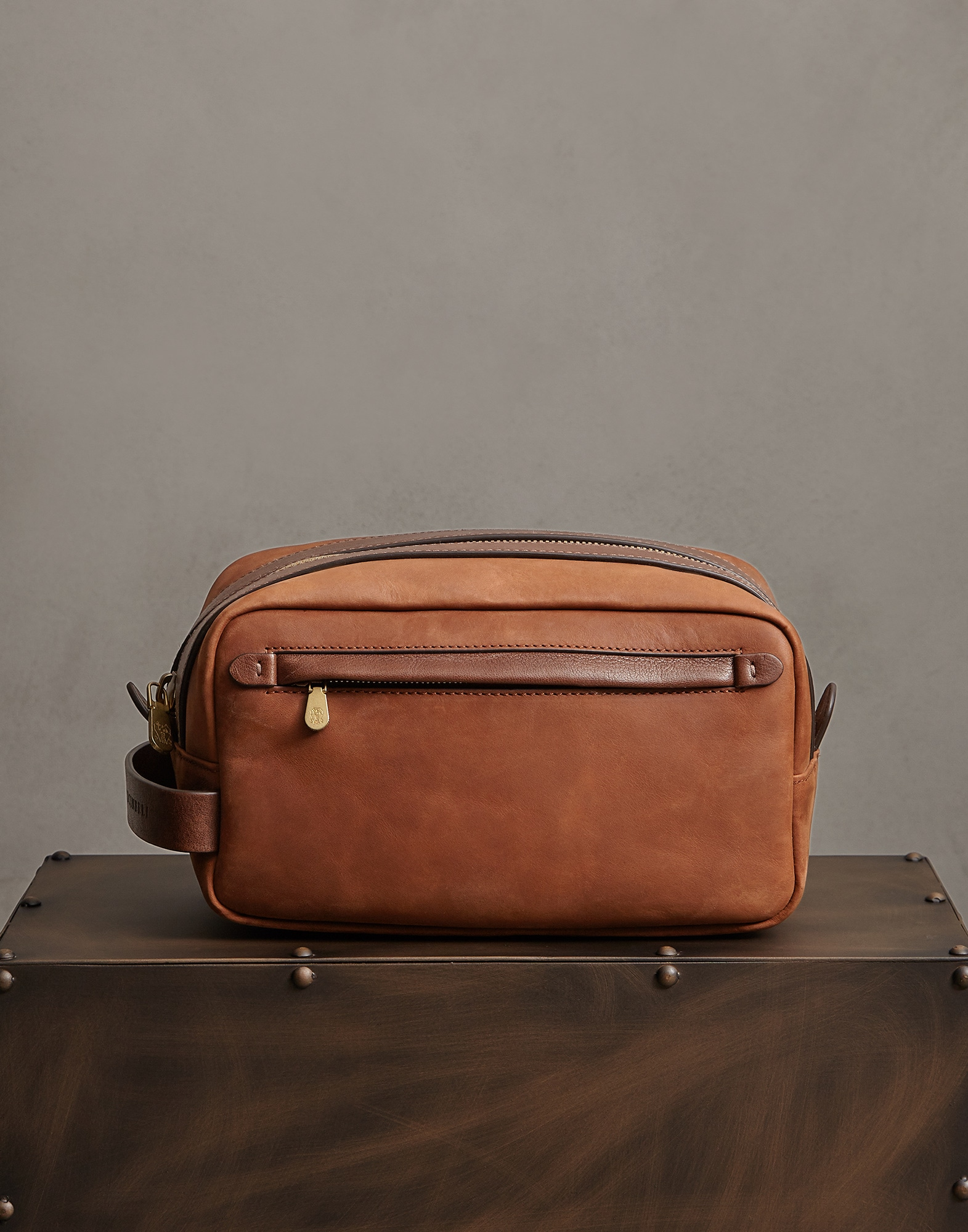 Beauty Case Bark Man 0 - Brunello Cucinelli