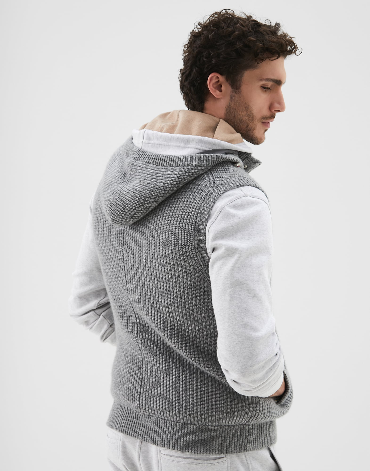 Knit Outerwear - Back