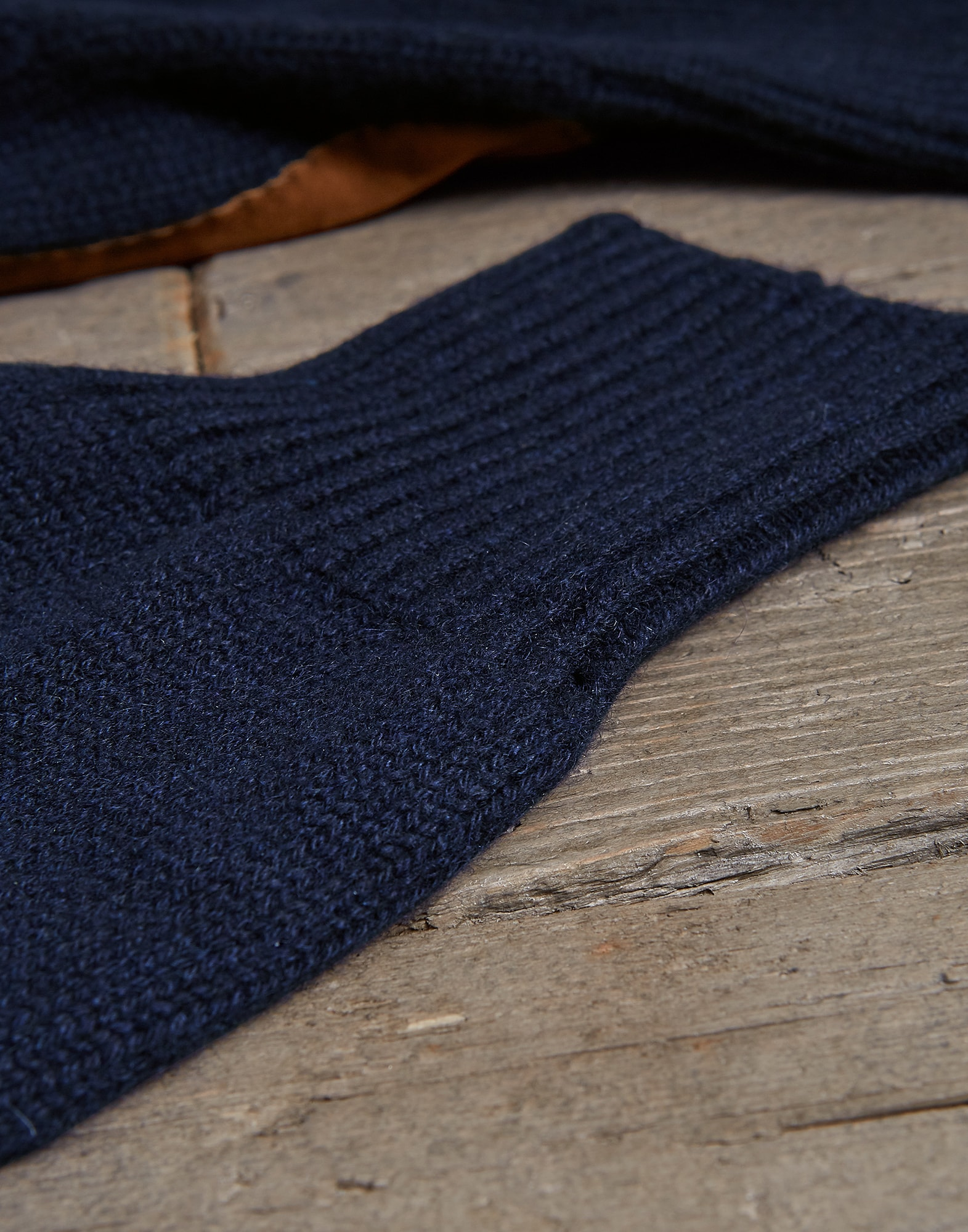 Gloves Navy Blue Man 2 - Brunello Cucinelli
