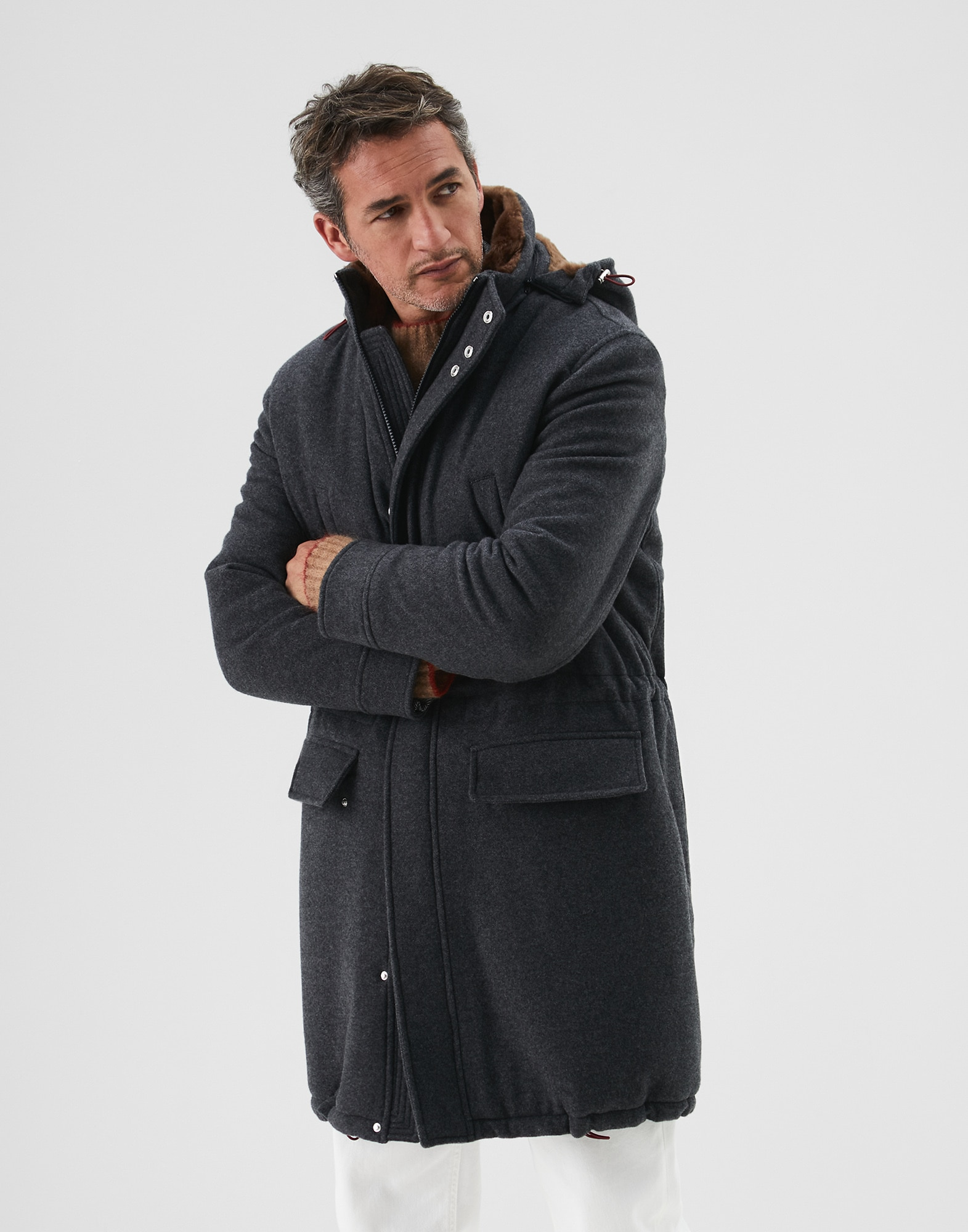 Parka Plomb Homme 1 - Brunello Cucinelli