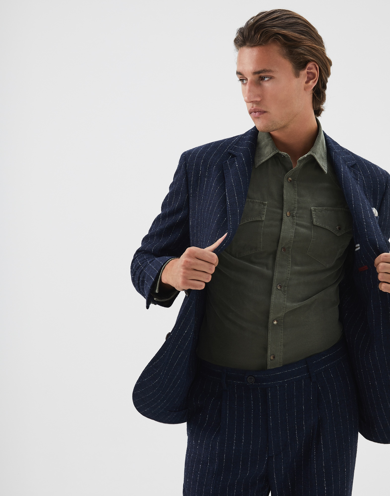 Single Breasted Blazer - Editorial view