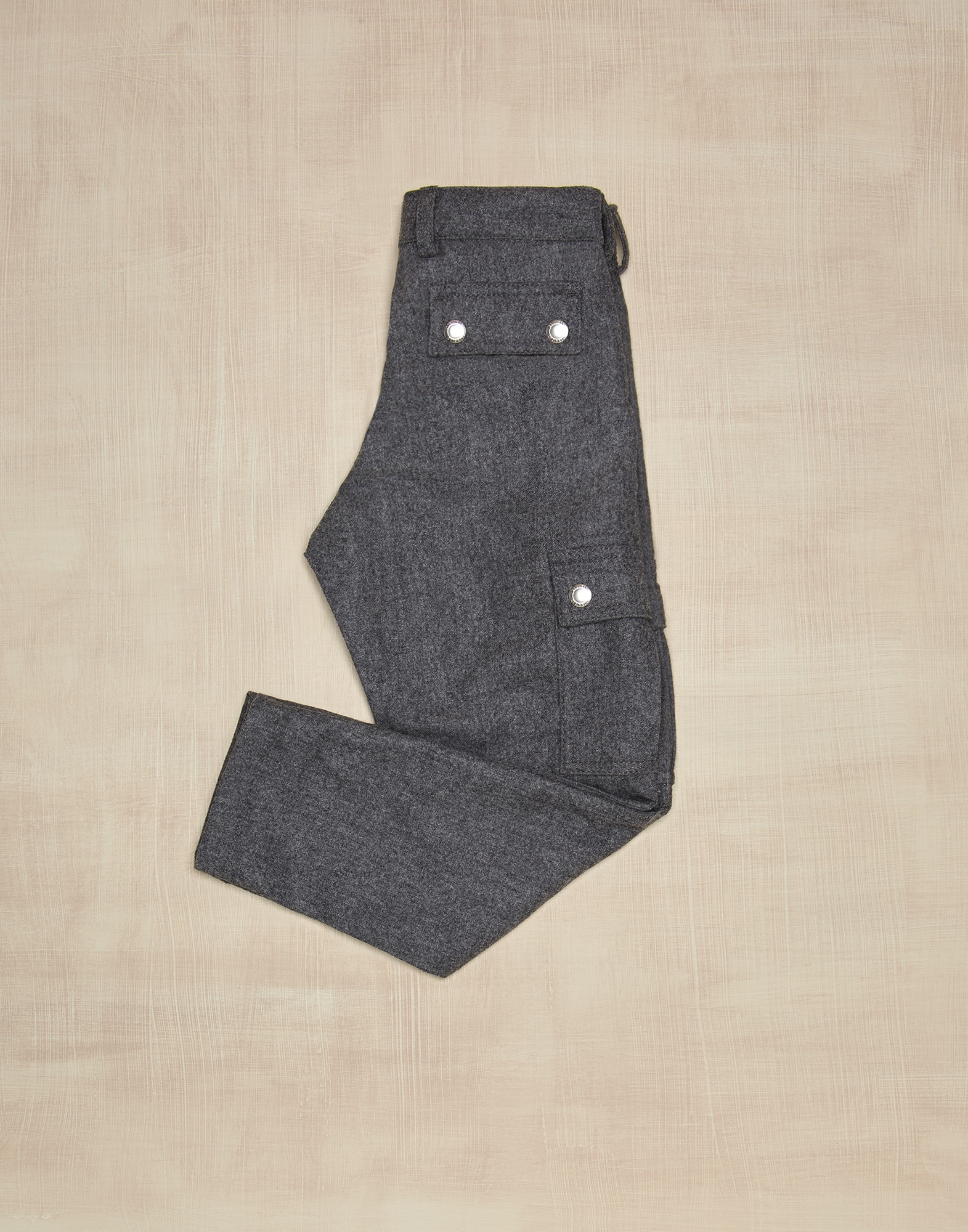 Trousers Medium Grey Boy 1 - Brunello Cucinelli