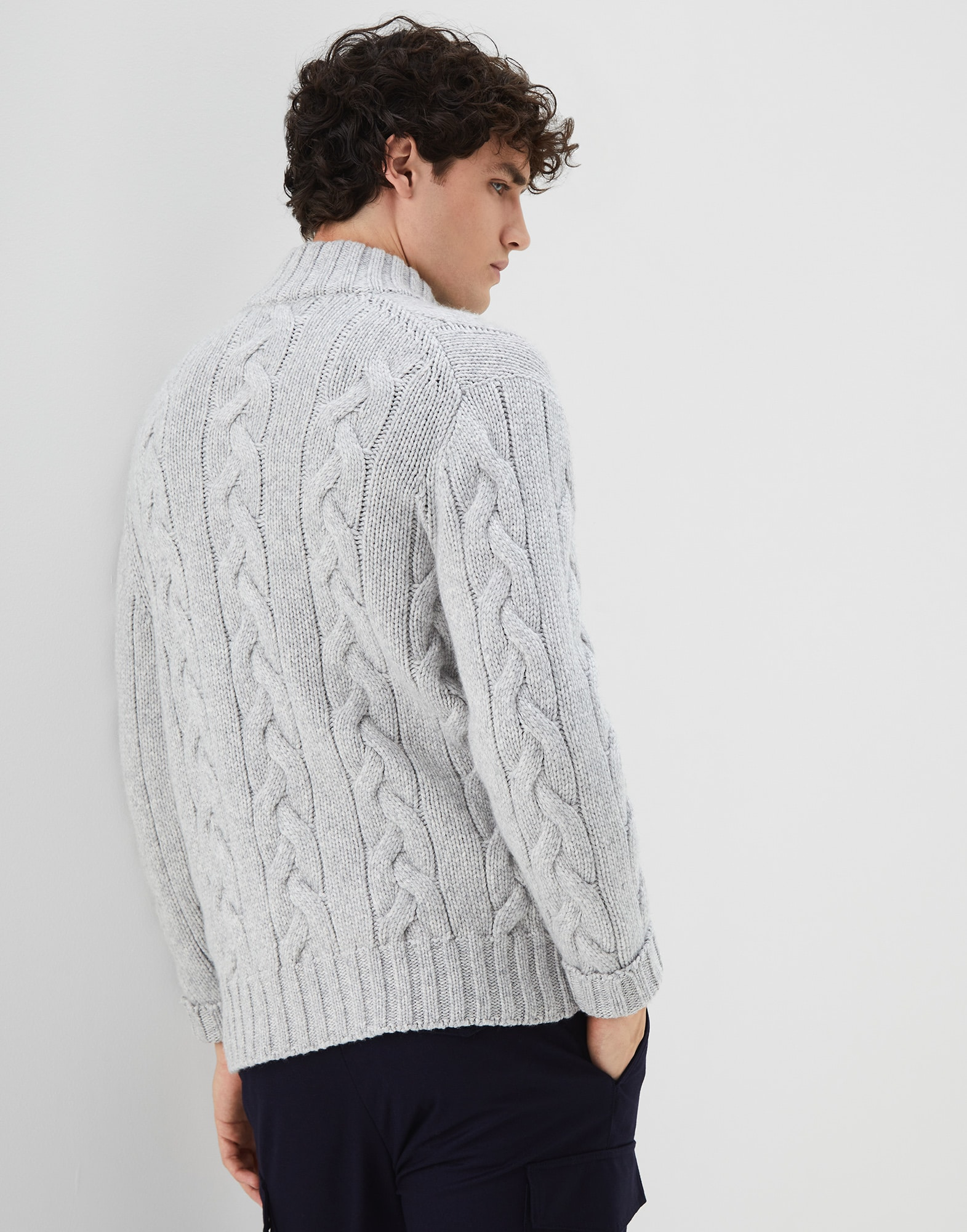 Cardigan Zippé - Back