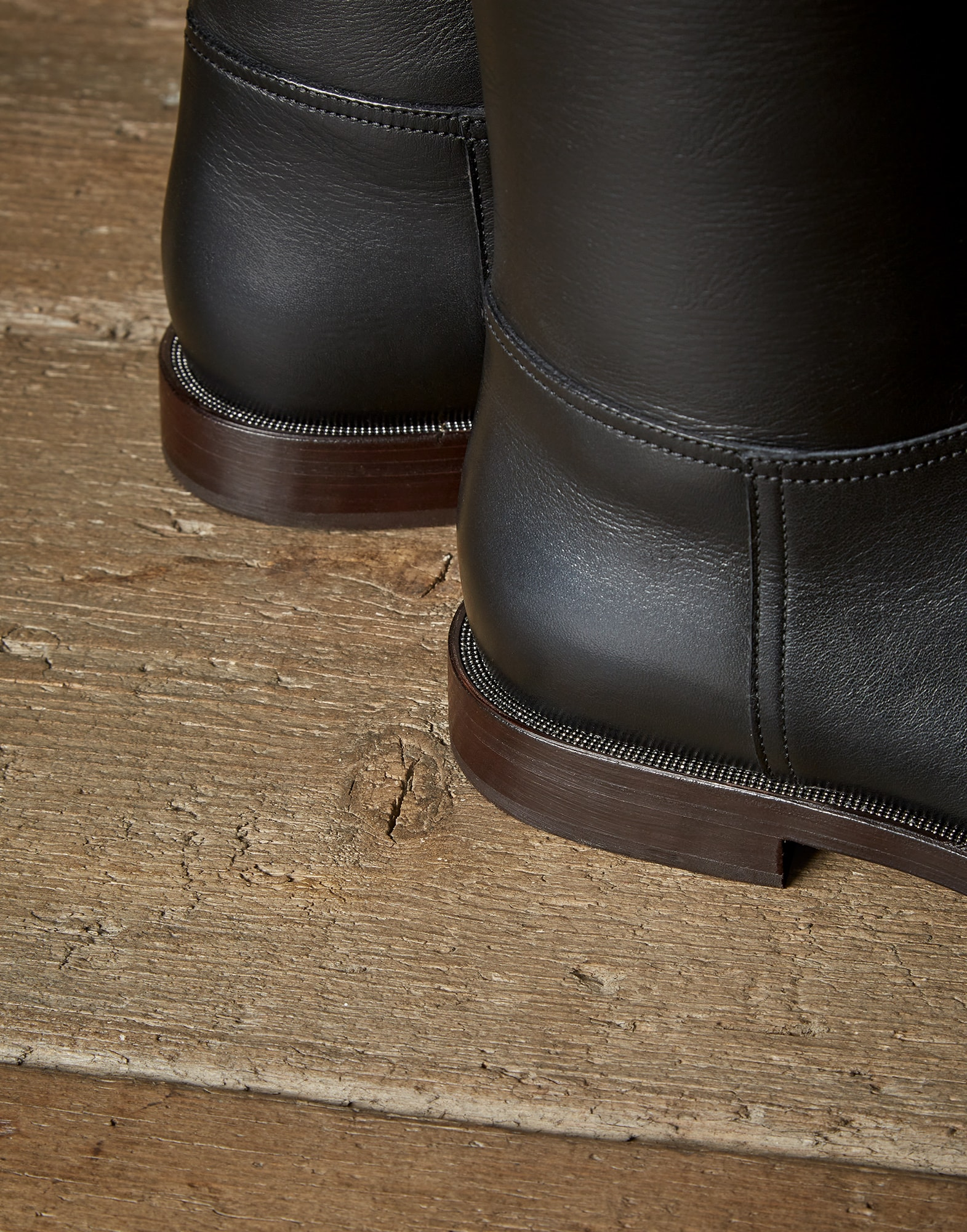 High-Boots Black Woman 2 - Brunello Cucinelli