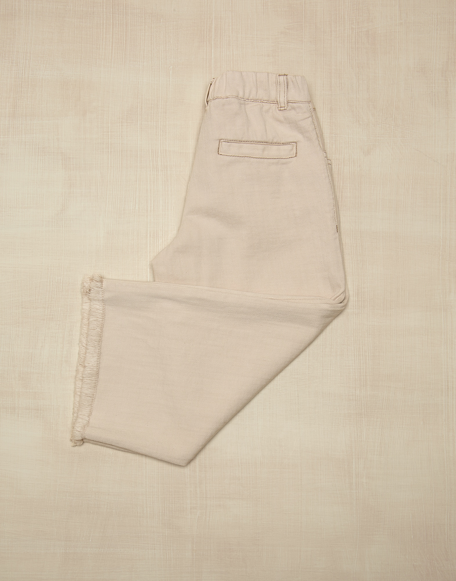 Pantalon en Denim Lait Fille 1 - Brunello Cucinelli