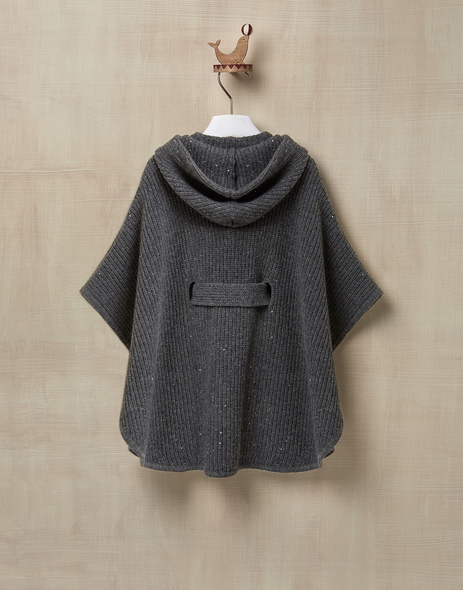 Poncho Lead Girl 1 - Brunello Cucinelli