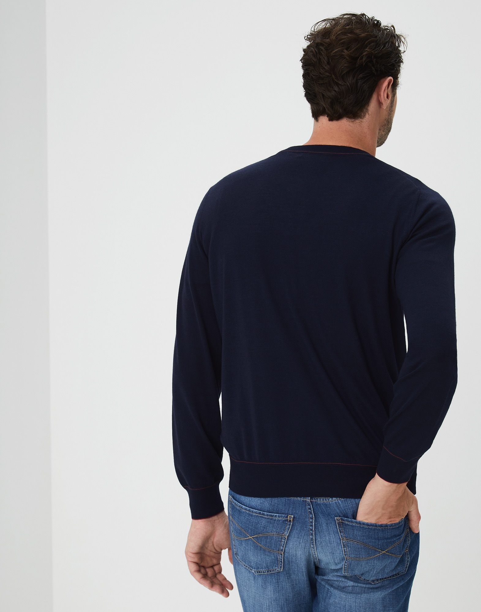 Crewneck Sweater - Back