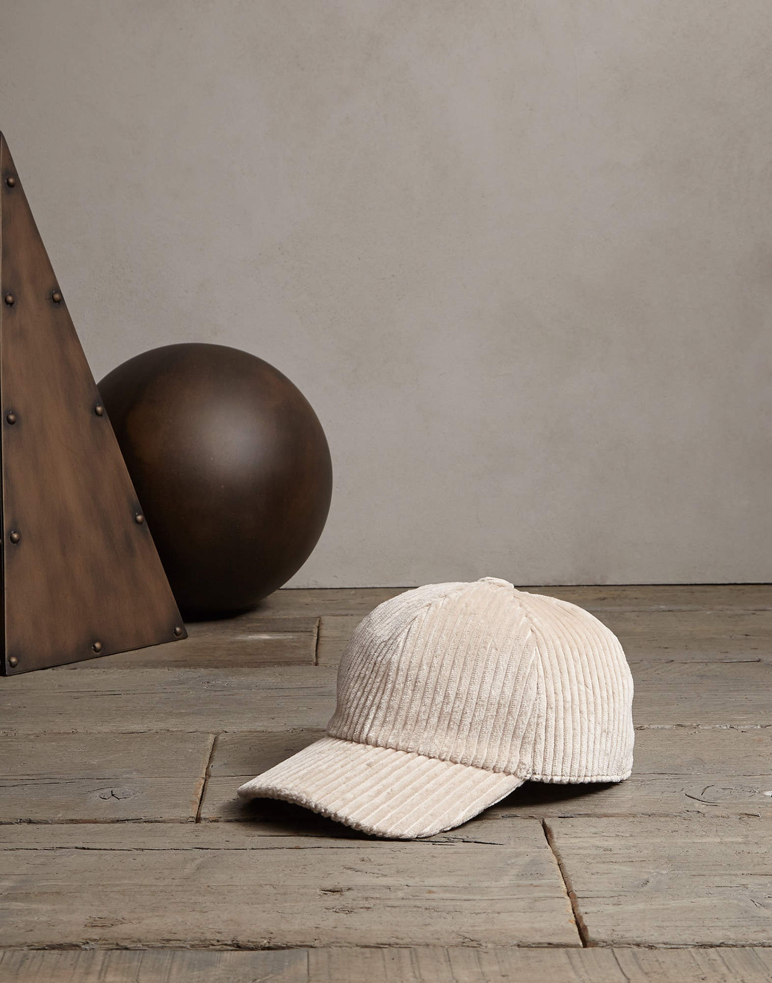 Hat Beige Man 0 - Brunello Cucinelli