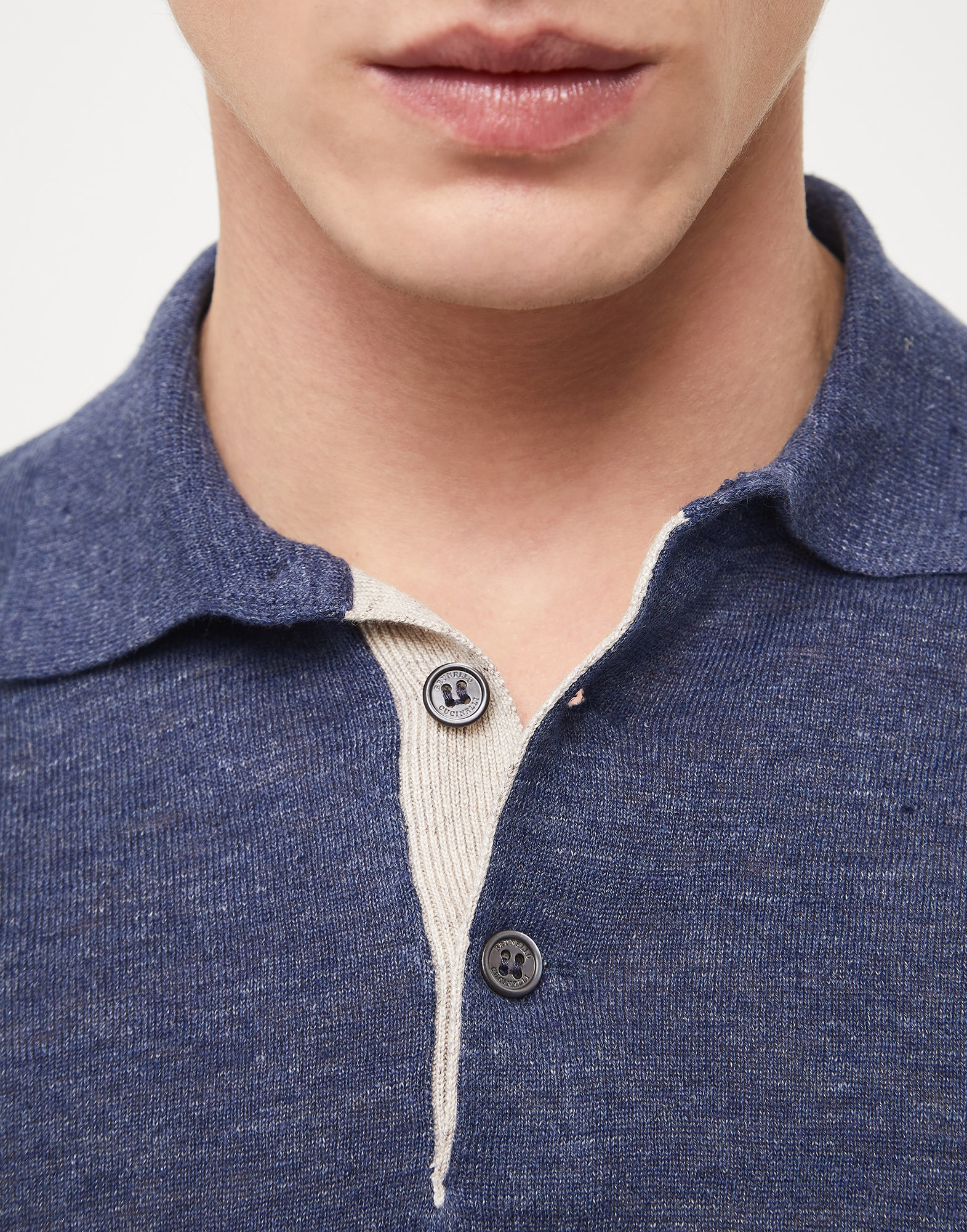 Polo-Style Sweater - Detail view